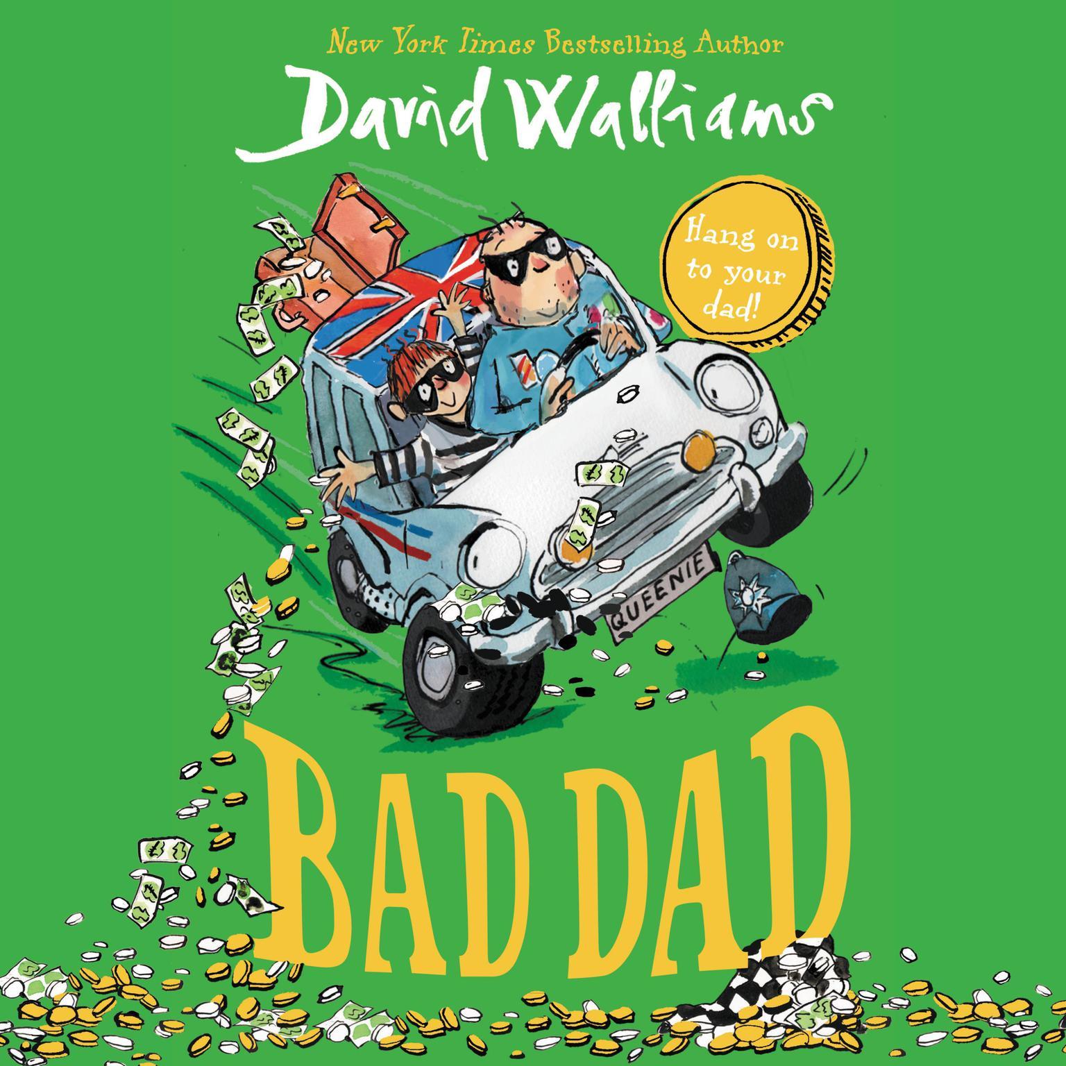 Printable Bad Dad Audiobook Cover Art