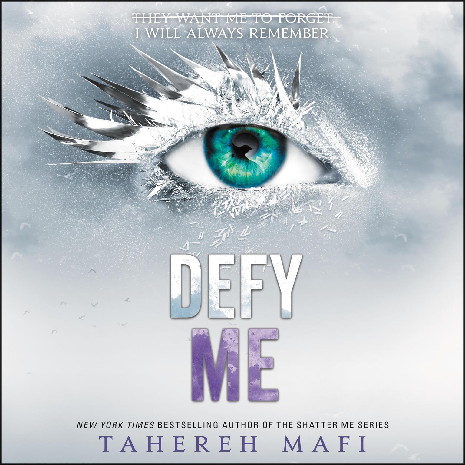 Printable Defy Me Audiobook Cover Art
