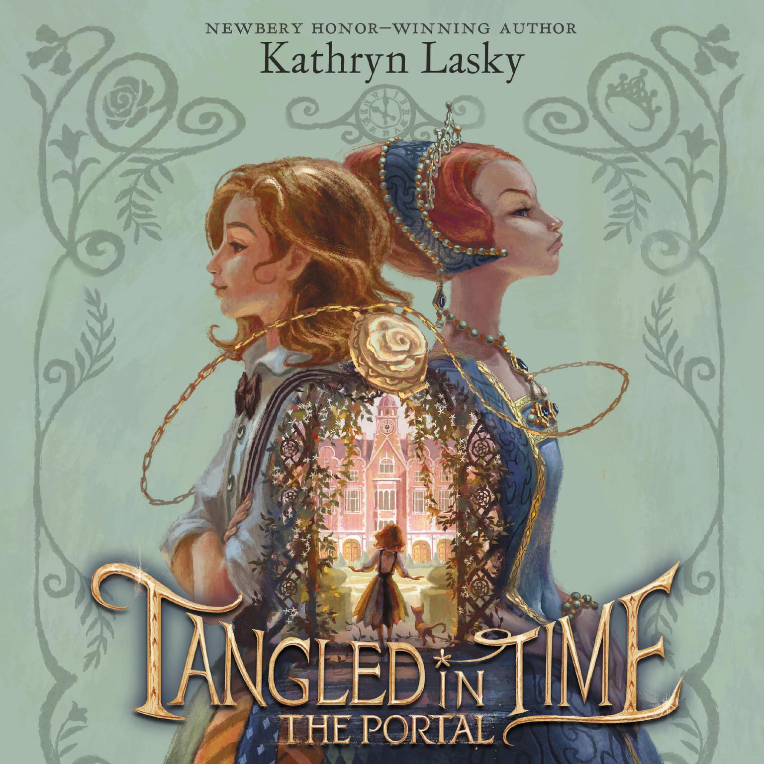 Printable Tangled in Time: The Portal Audiobook Cover Art