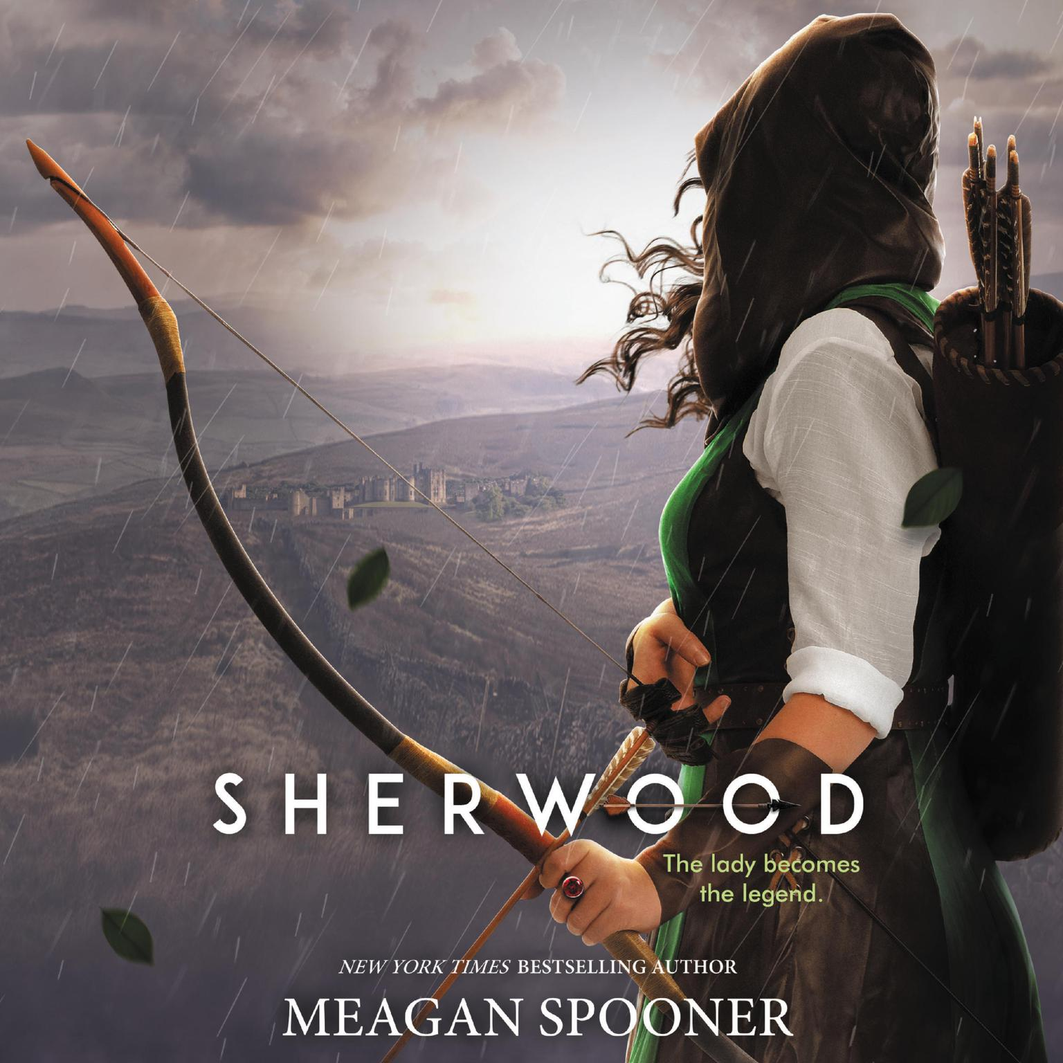 Printable Sherwood Audiobook Cover Art