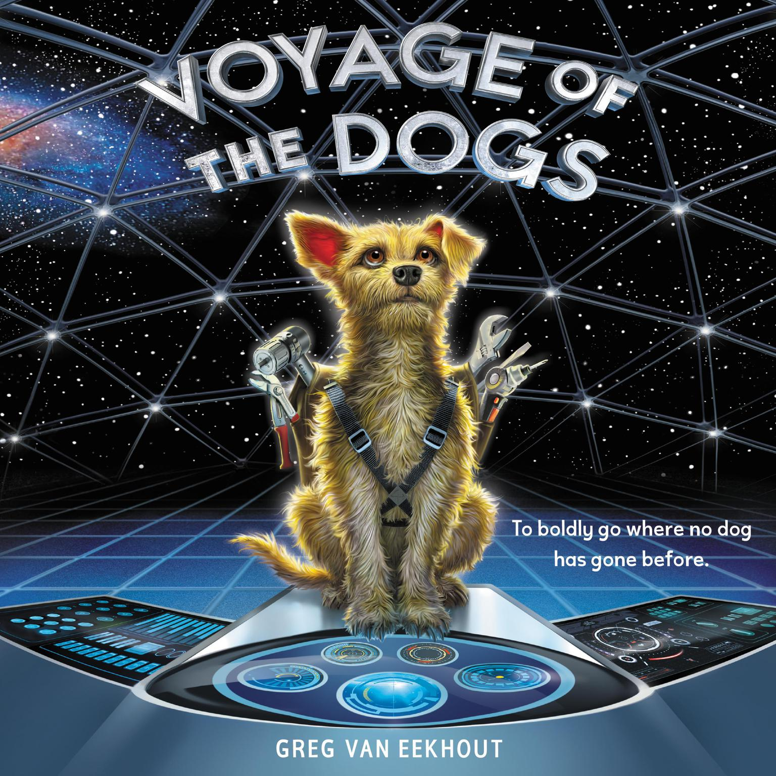 Printable Voyage of the Dogs Audiobook Cover Art
