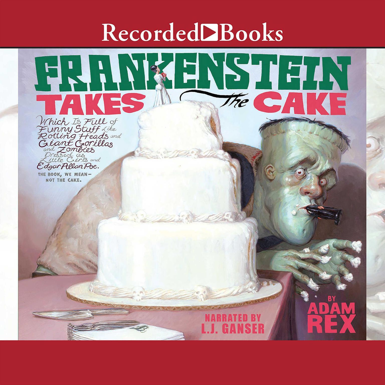 Printable Frankenstein Takes the Cake Audiobook Cover Art