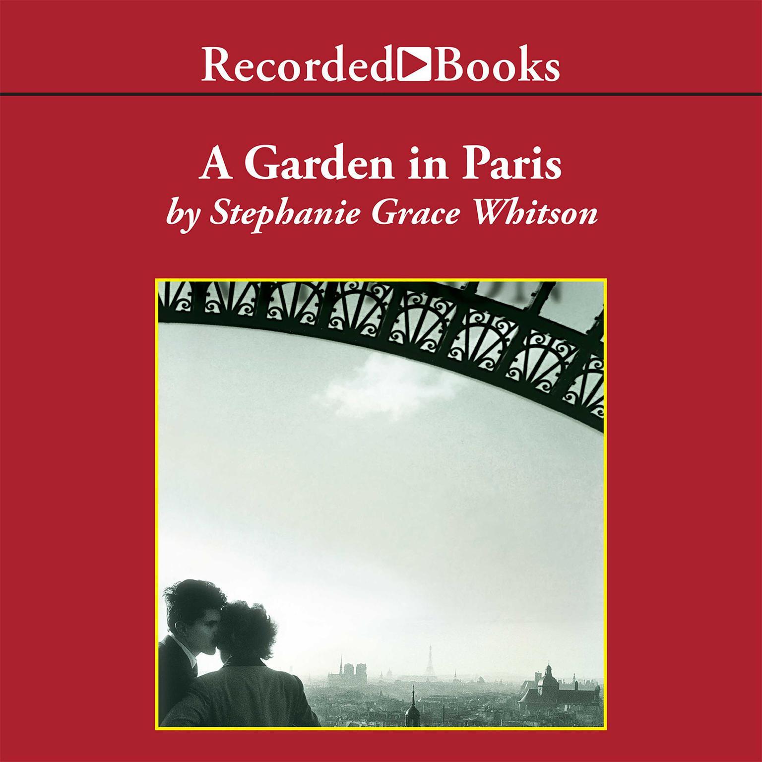 Printable Garden in Paris Audiobook Cover Art