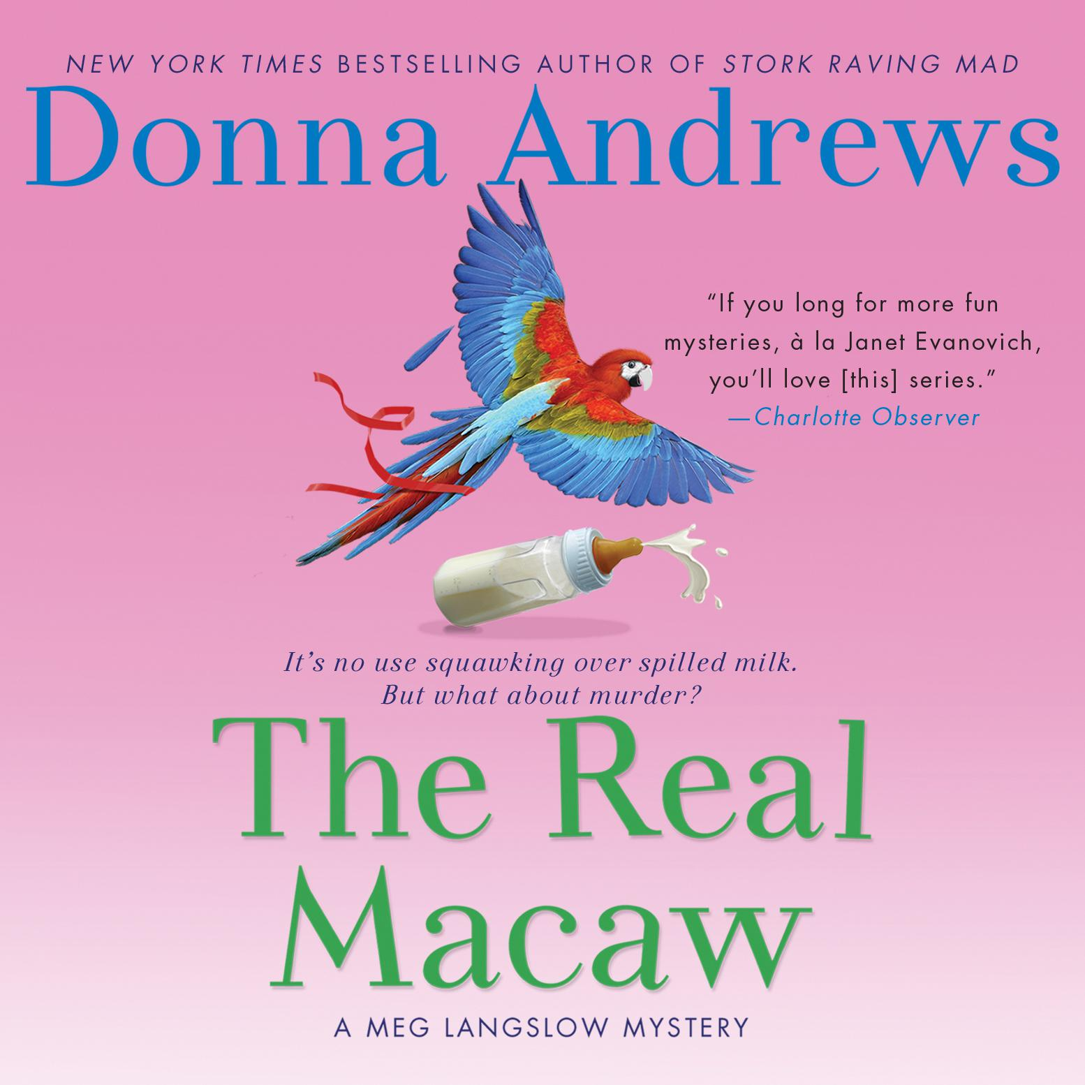 Printable The Real Macaw Audiobook Cover Art