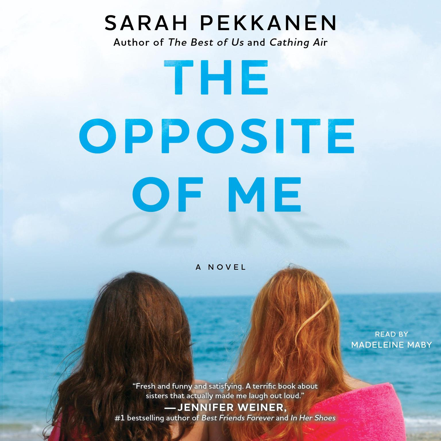 Printable The Opposite of Me: A Novel Audiobook Cover Art