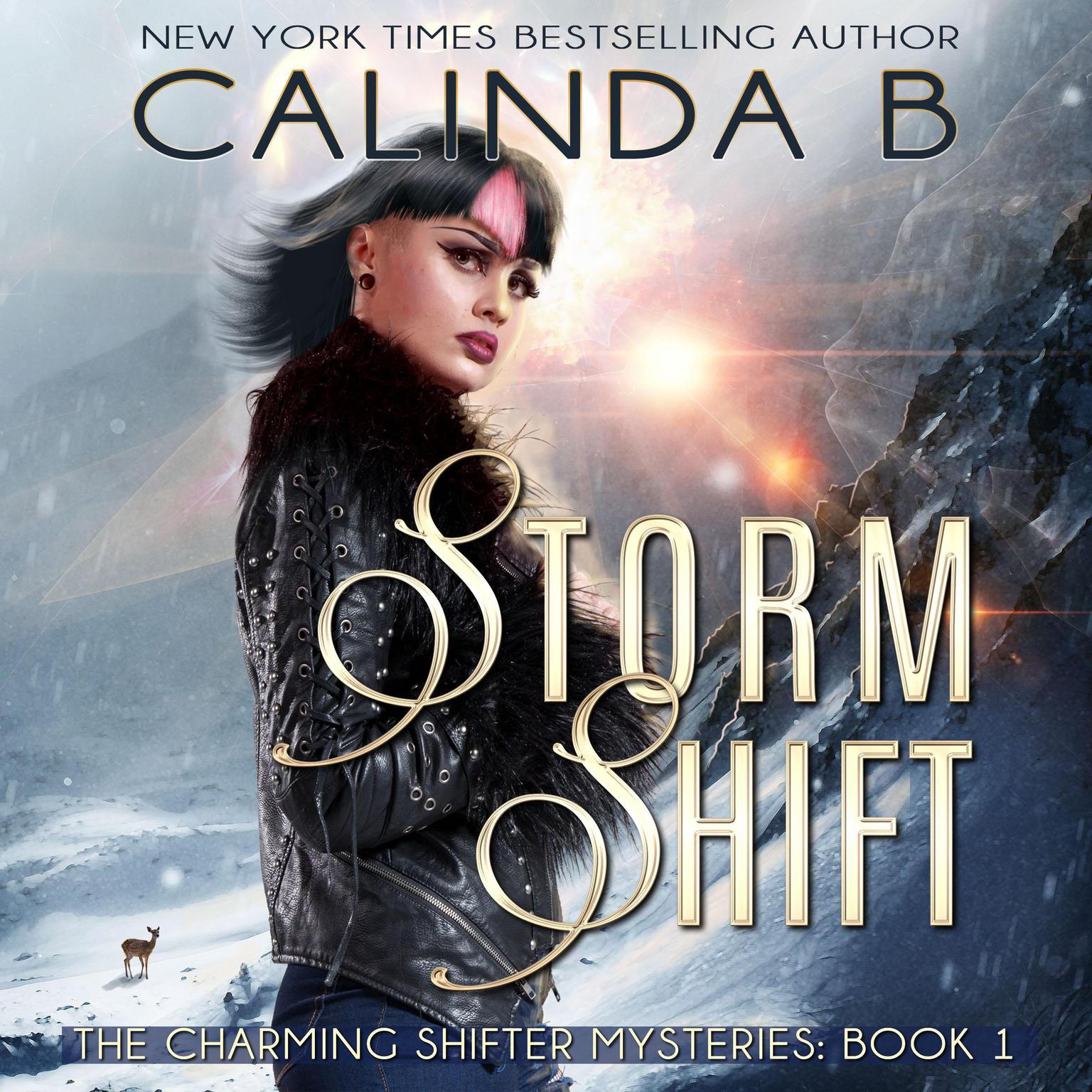Printable Storm Shift: Book 1 in the Charming Shifter Mysteries Audiobook Cover Art