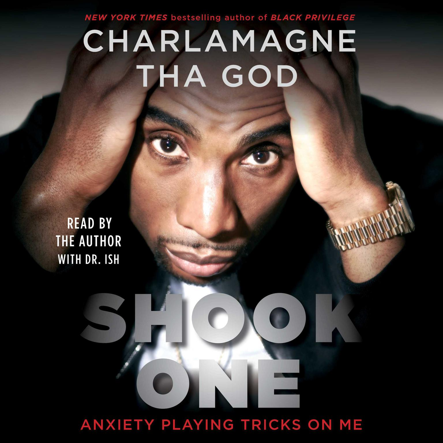 Printable Shook One: Anxiety Playing Tricks on Me Audiobook Cover Art