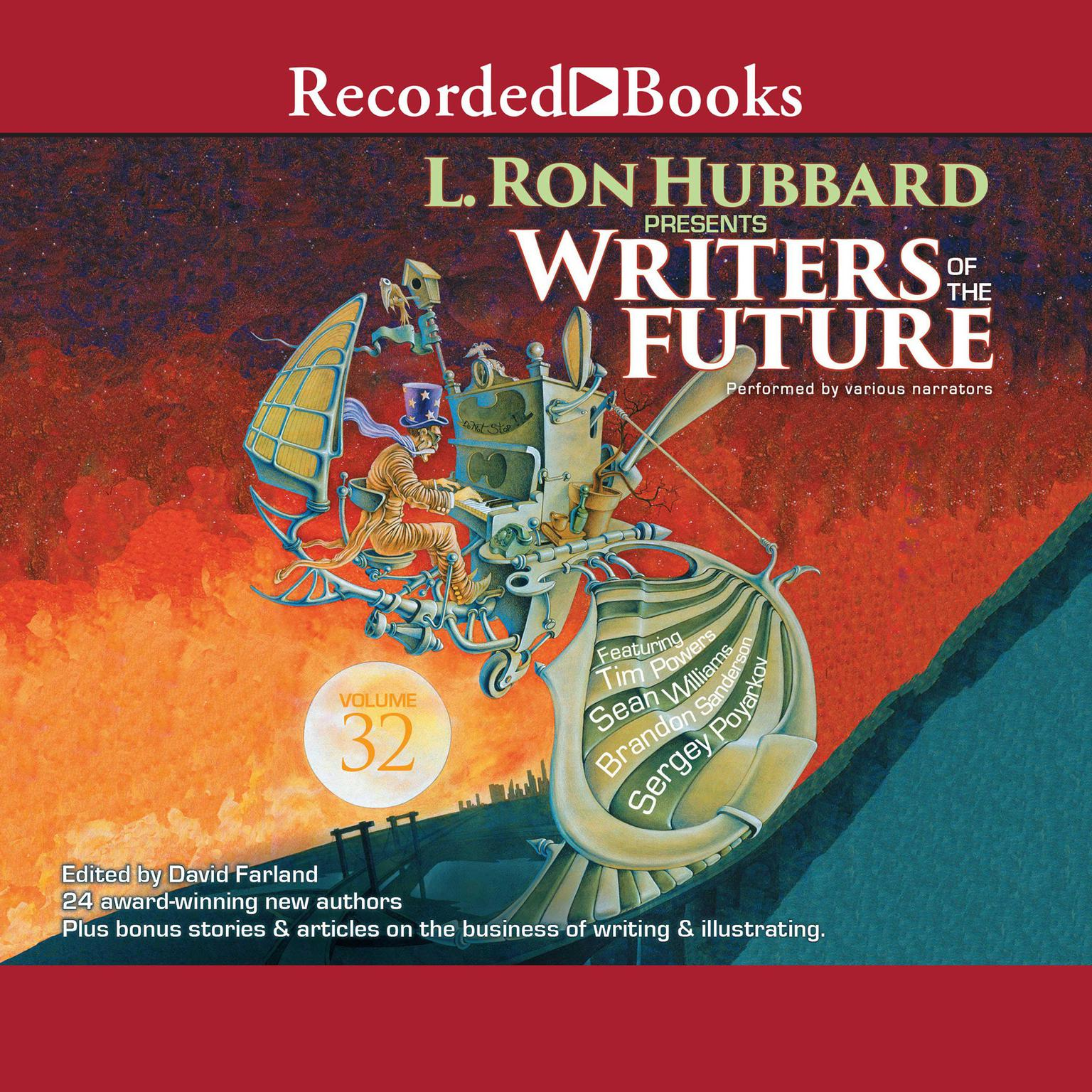 Printable Writers of the Future, Volume 32 Audiobook Cover Art