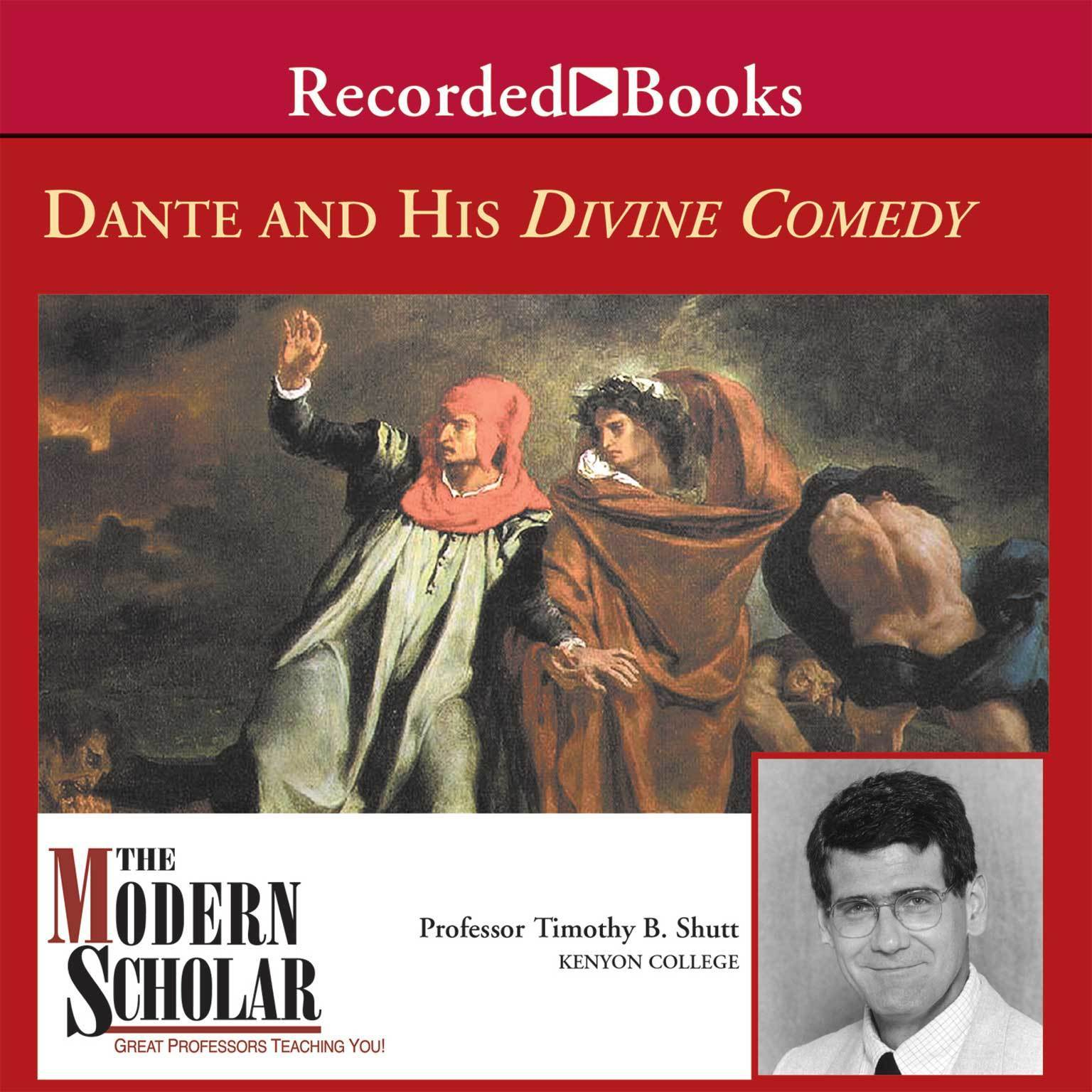 Printable Dante and His Divine Comedy Audiobook Cover Art