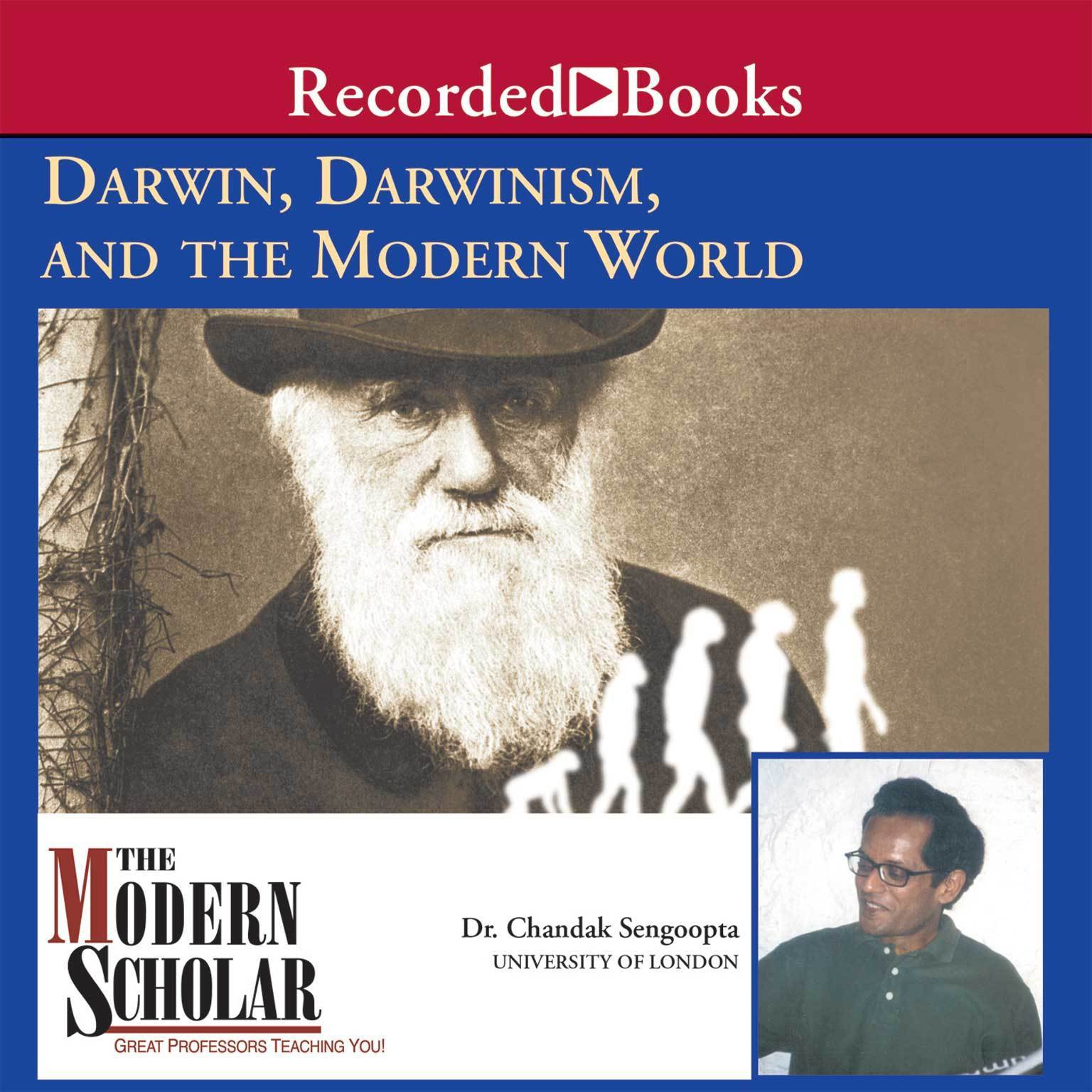 Printable Darwin, Darwinism, and the Modern World Audiobook Cover Art