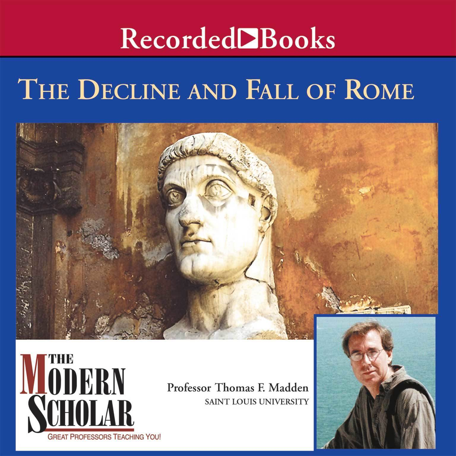 Printable Decline and Fall of the Roman Empire Audiobook Cover Art