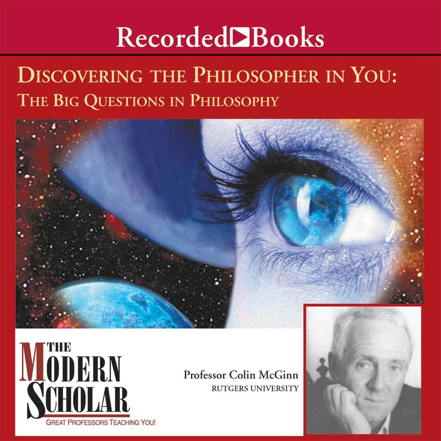 Printable Discovering the Philosopher in You: The Big Questions in Philosophy Audiobook Cover Art