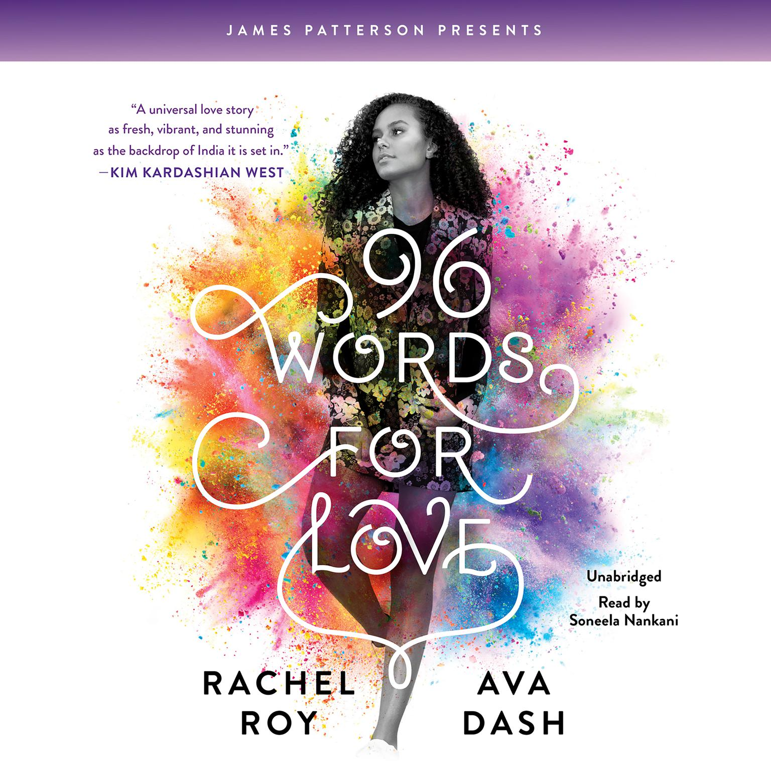 Printable 96 Words for Love Audiobook Cover Art