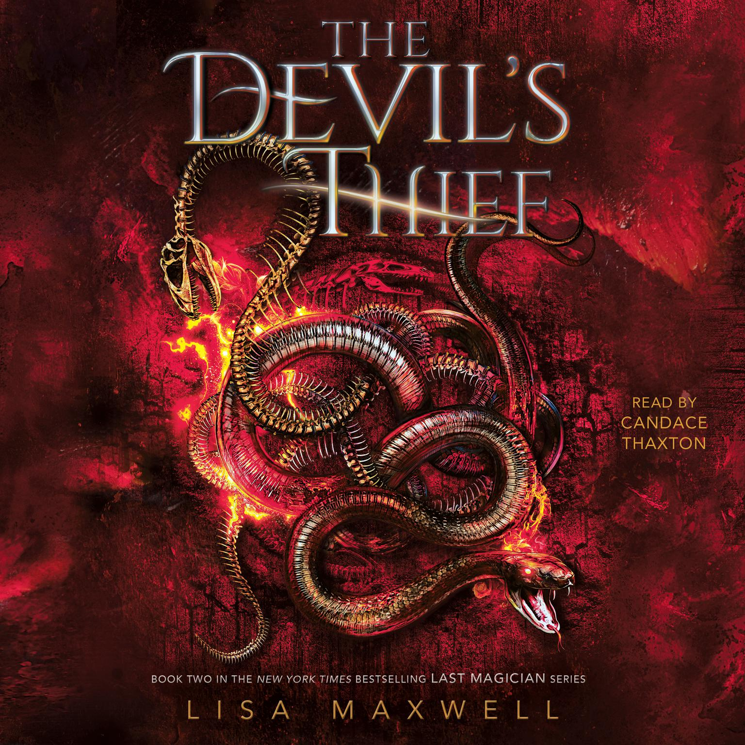 Printable The Devil's Thief Audiobook Cover Art