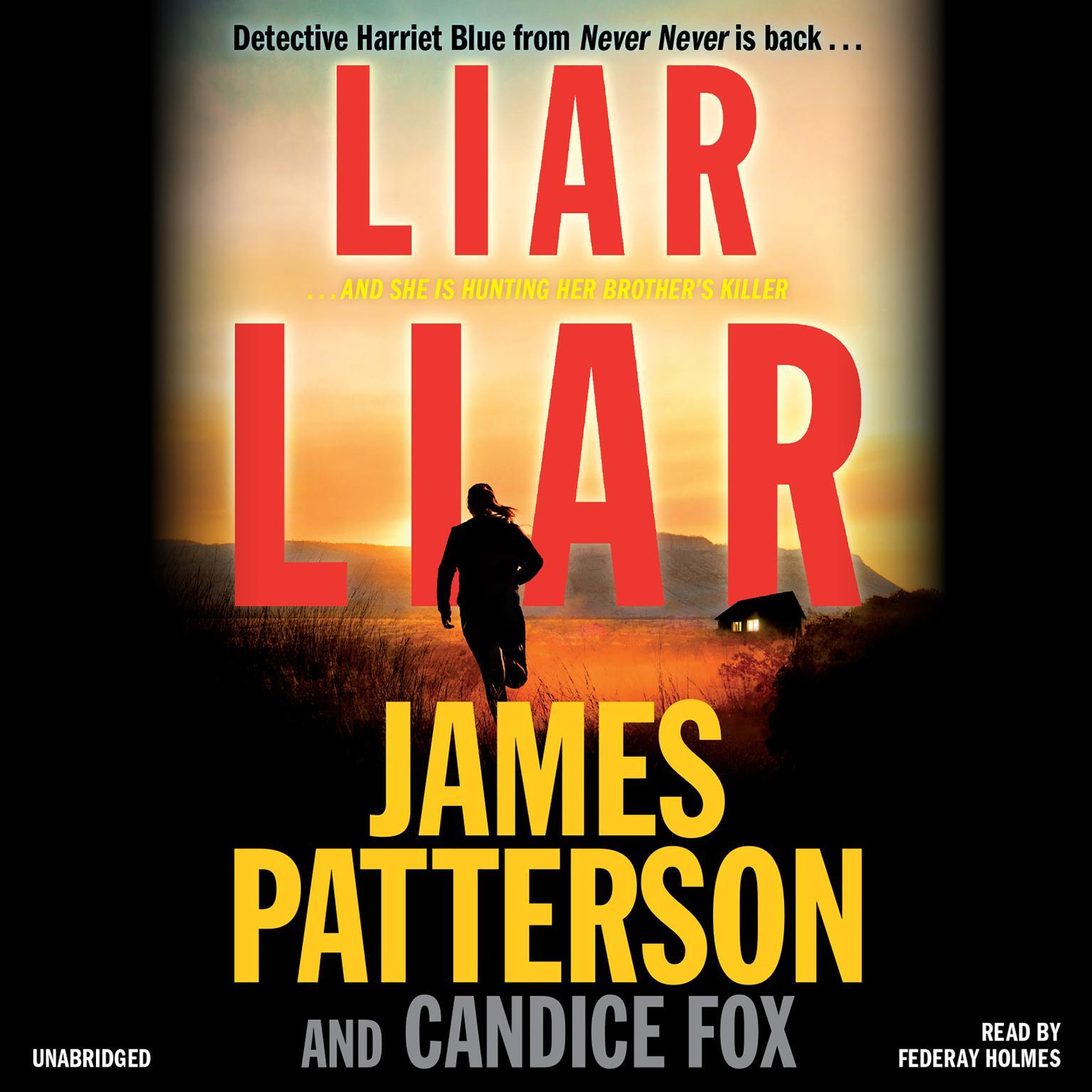 Printable Liar Liar Audiobook Cover Art