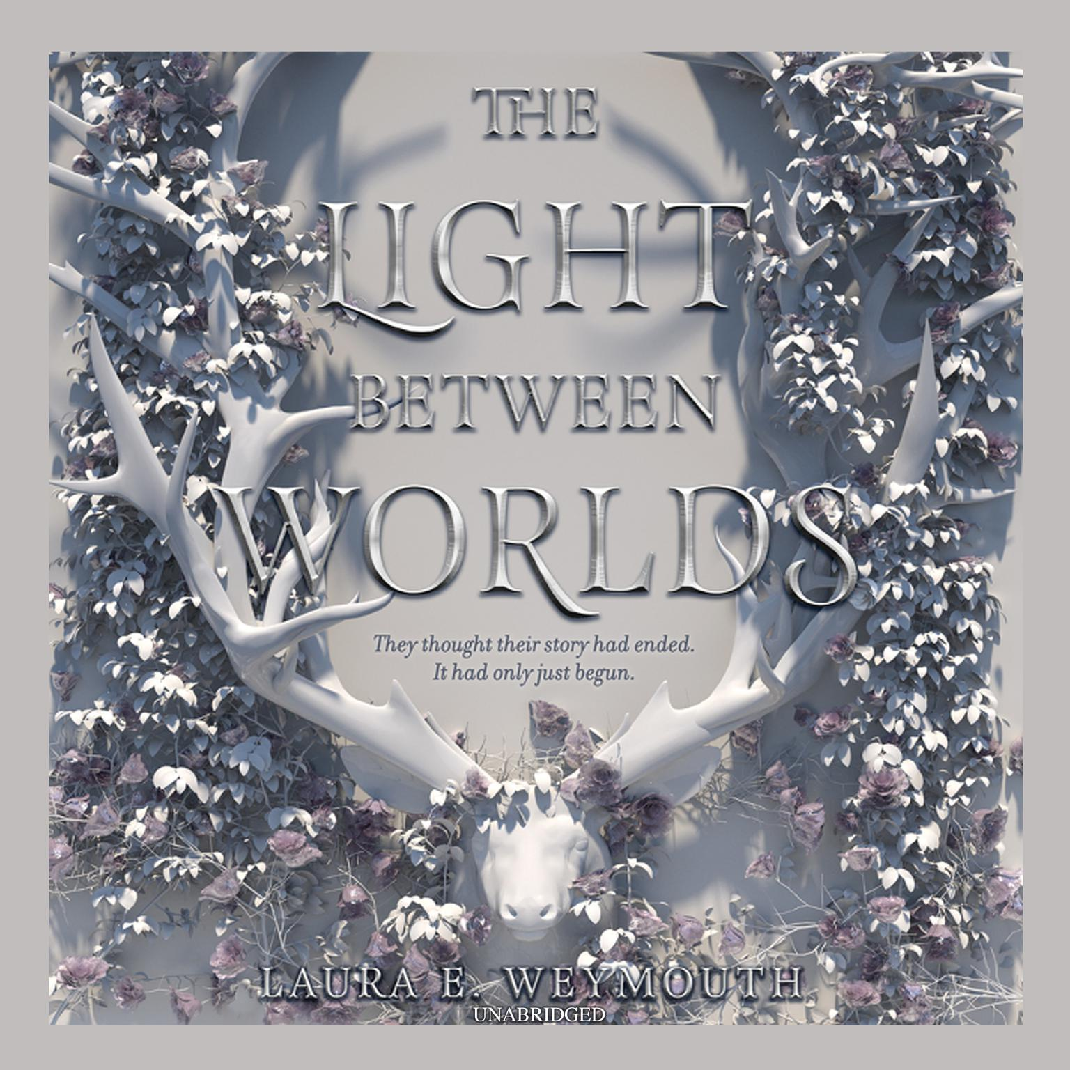Printable The Light Between Worlds Audiobook Cover Art