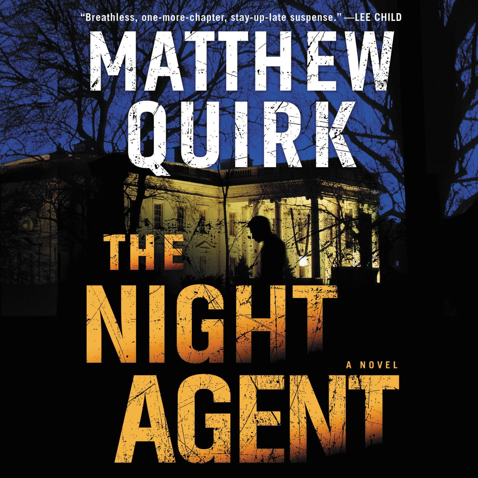 Printable The Night Agent: A Novel Audiobook Cover Art