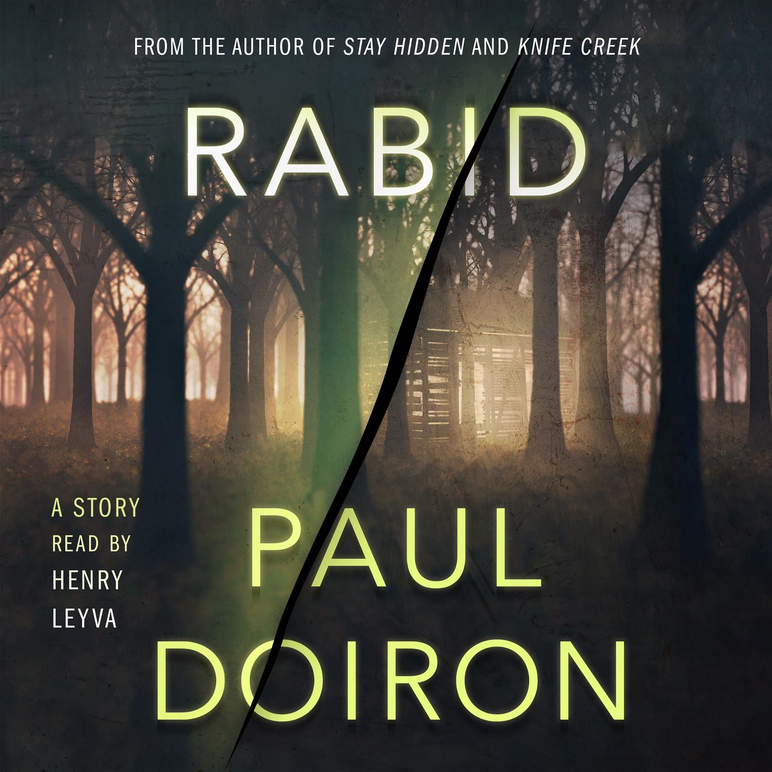 Printable Rabid: A Mike Bowditch Short Mystery Audiobook Cover Art