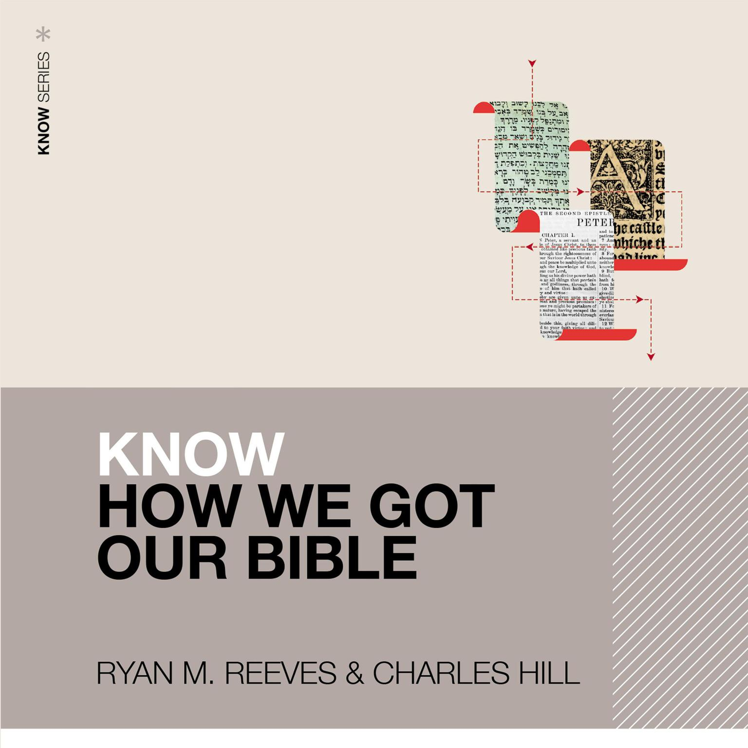 Printable Know How We Got Our Bible Audiobook Cover Art