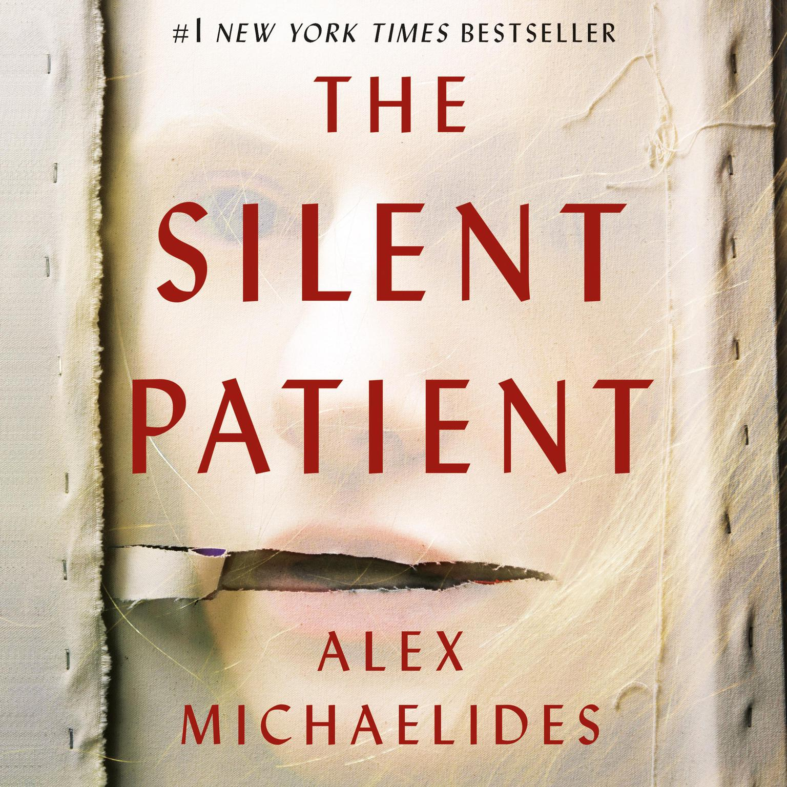 Printable The Silent Patient Audiobook Cover Art