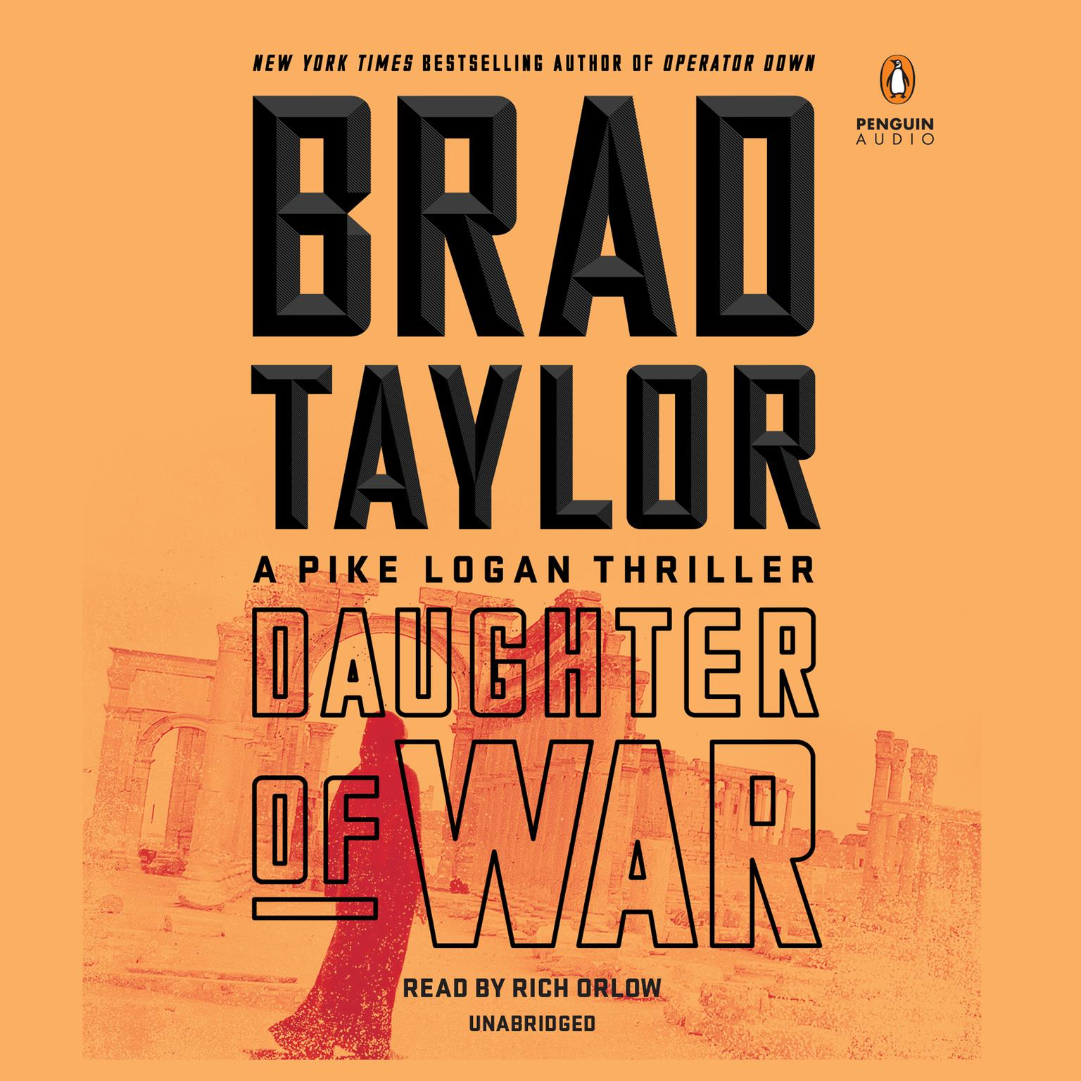 Printable Daughter of War: A Pike Logan Thriller Audiobook Cover Art