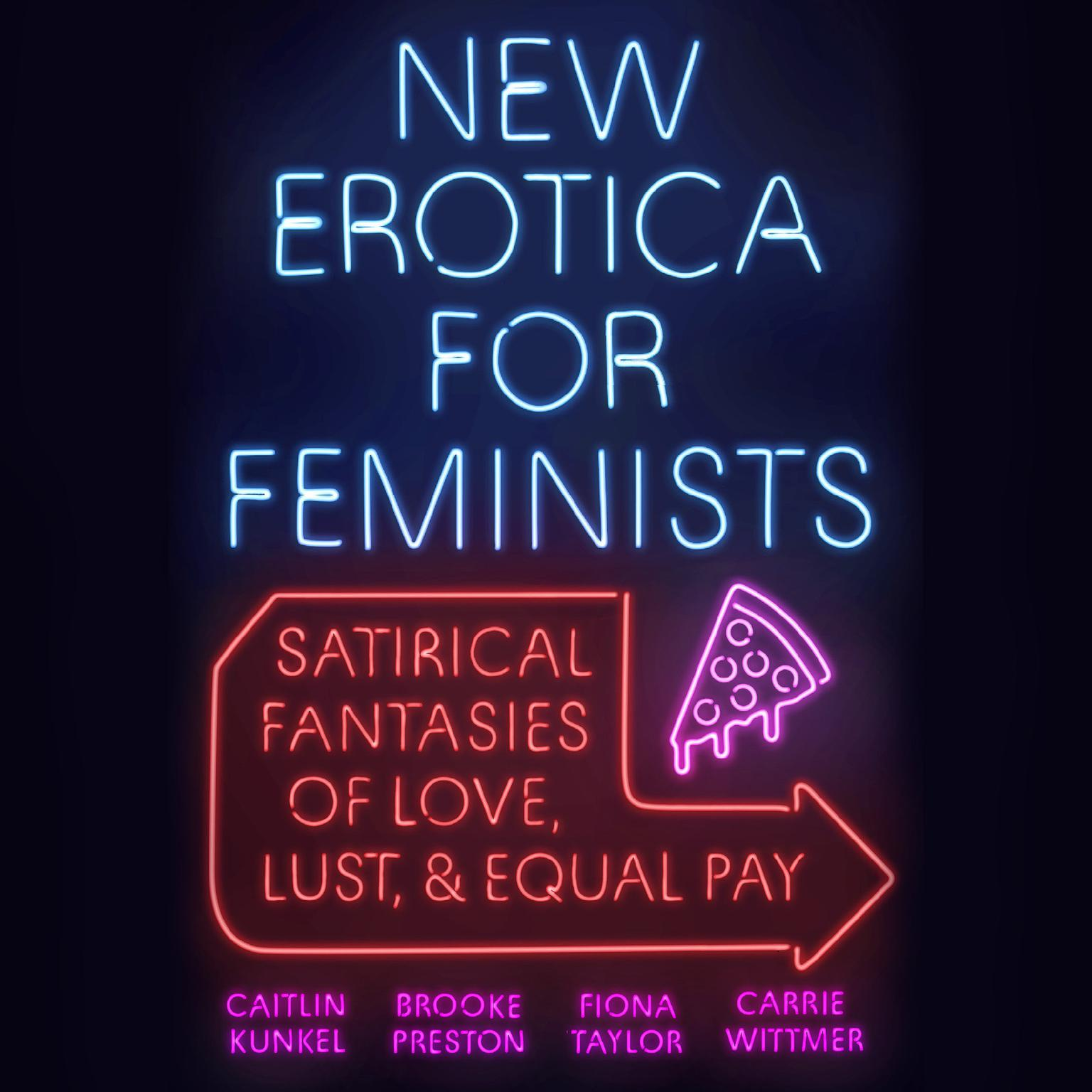 Printable New Erotica for Feminists: Satirical Fantasies of Love, Lust, and Equal Pay Audiobook Cover Art