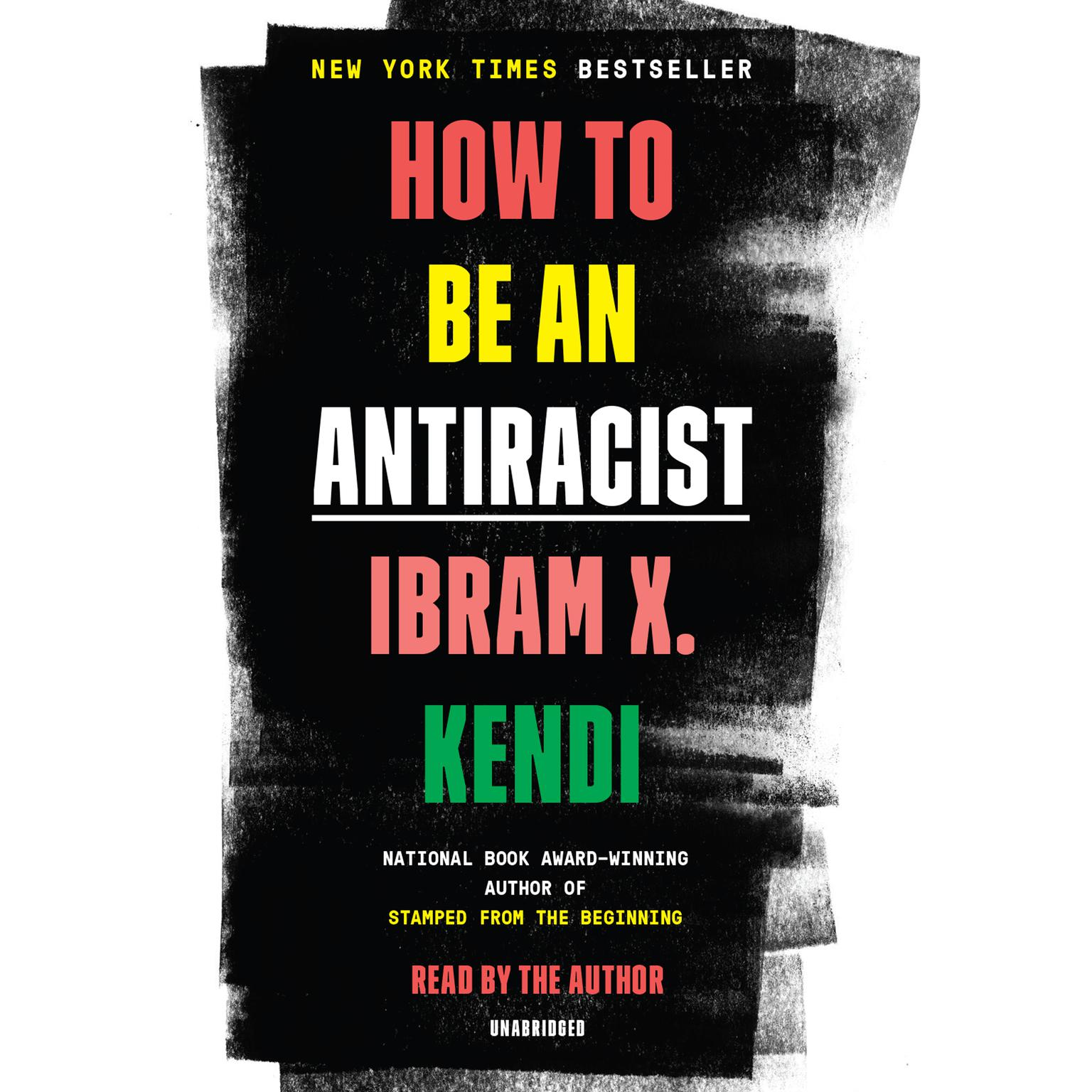 Printable How to Be an Antiracist Audiobook Cover Art