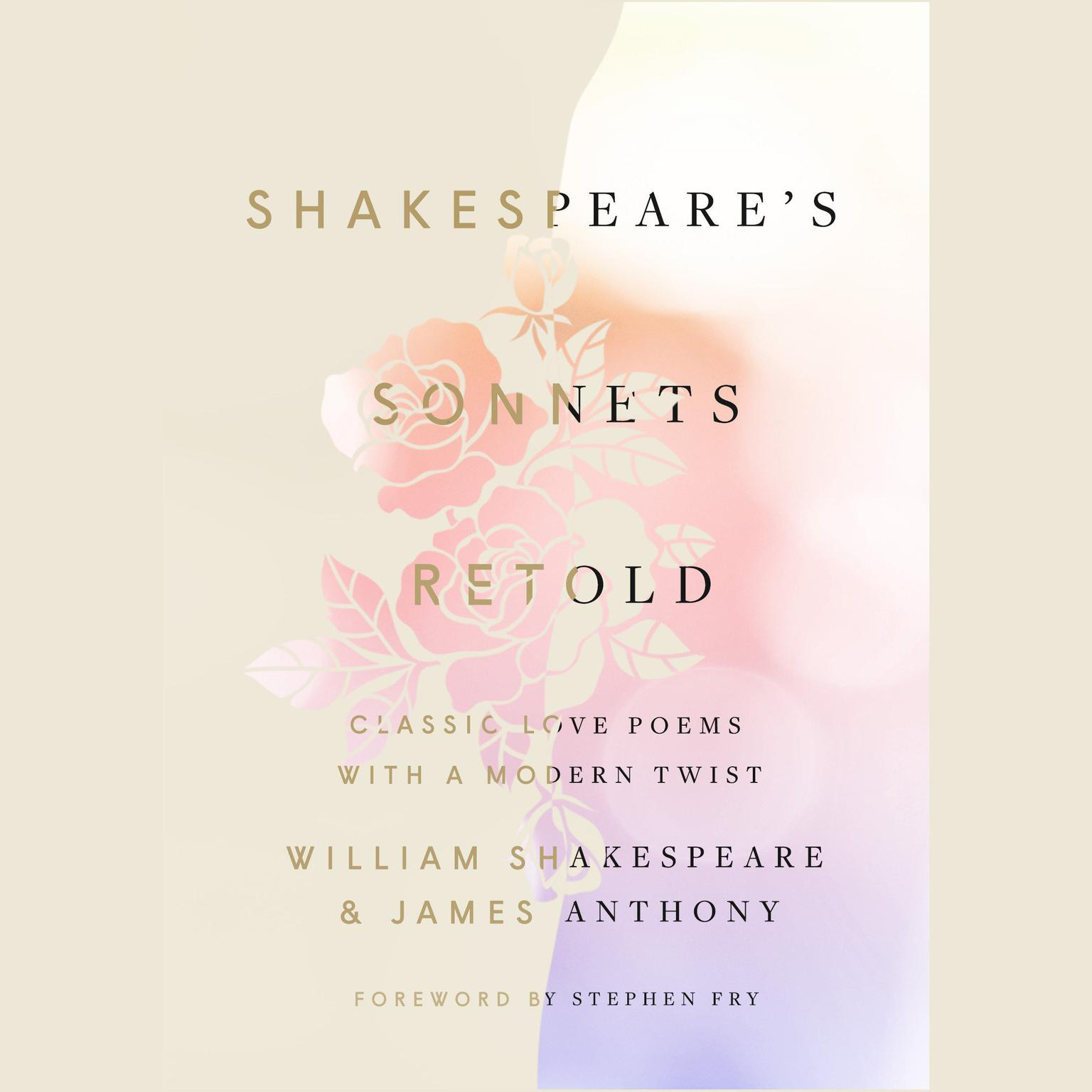 Printable Shakespeare's Sonnets, Retold: Classic Love Poems with a Modern Twist Audiobook Cover Art