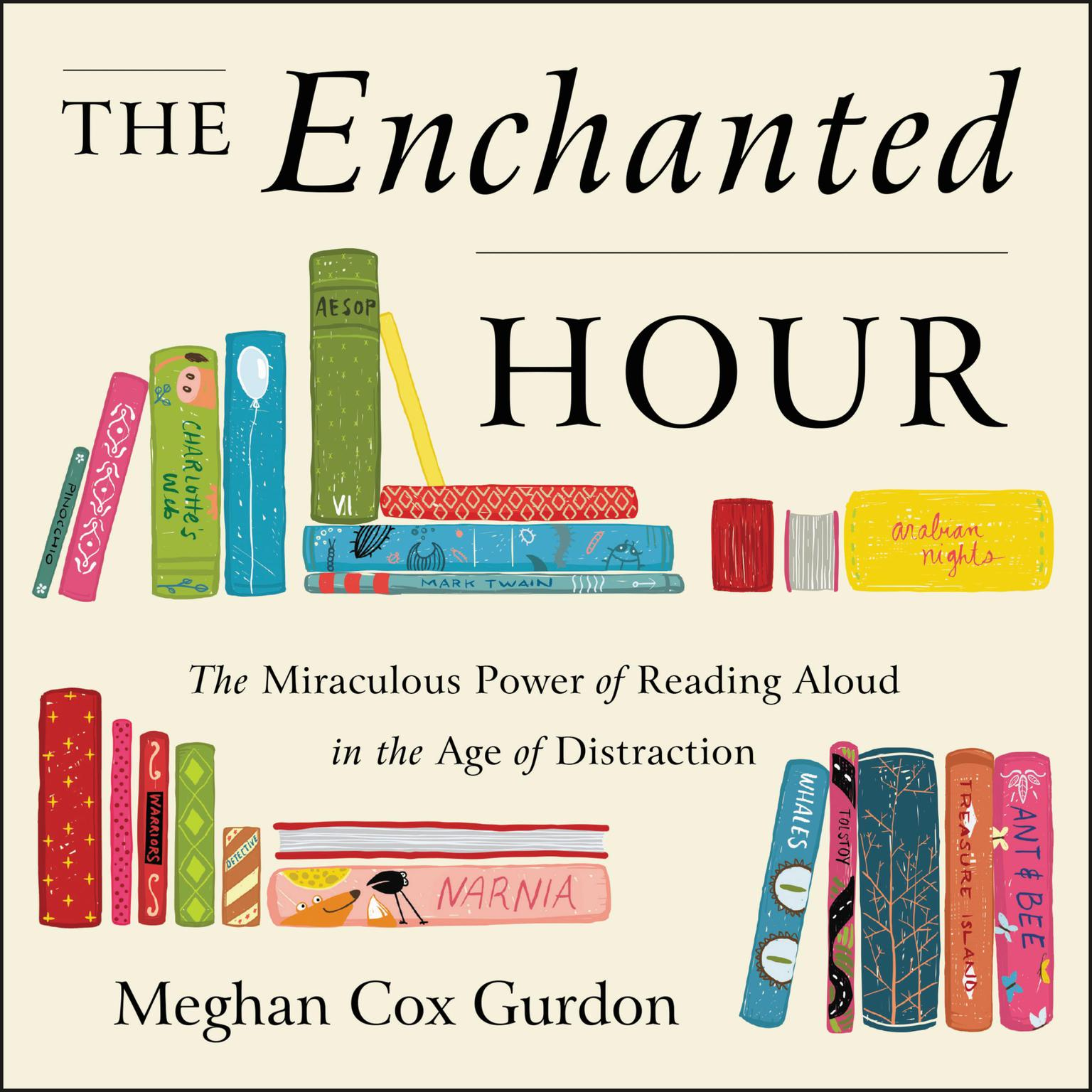 Printable The Enchanted Hour: The Miraculous Power of Reading Aloud in the Age of Distraction Audiobook Cover Art
