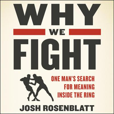 Why We Fight: One Man�s Search for Meaning Inside the Ring Audiobook, by Josh Rosenblatt