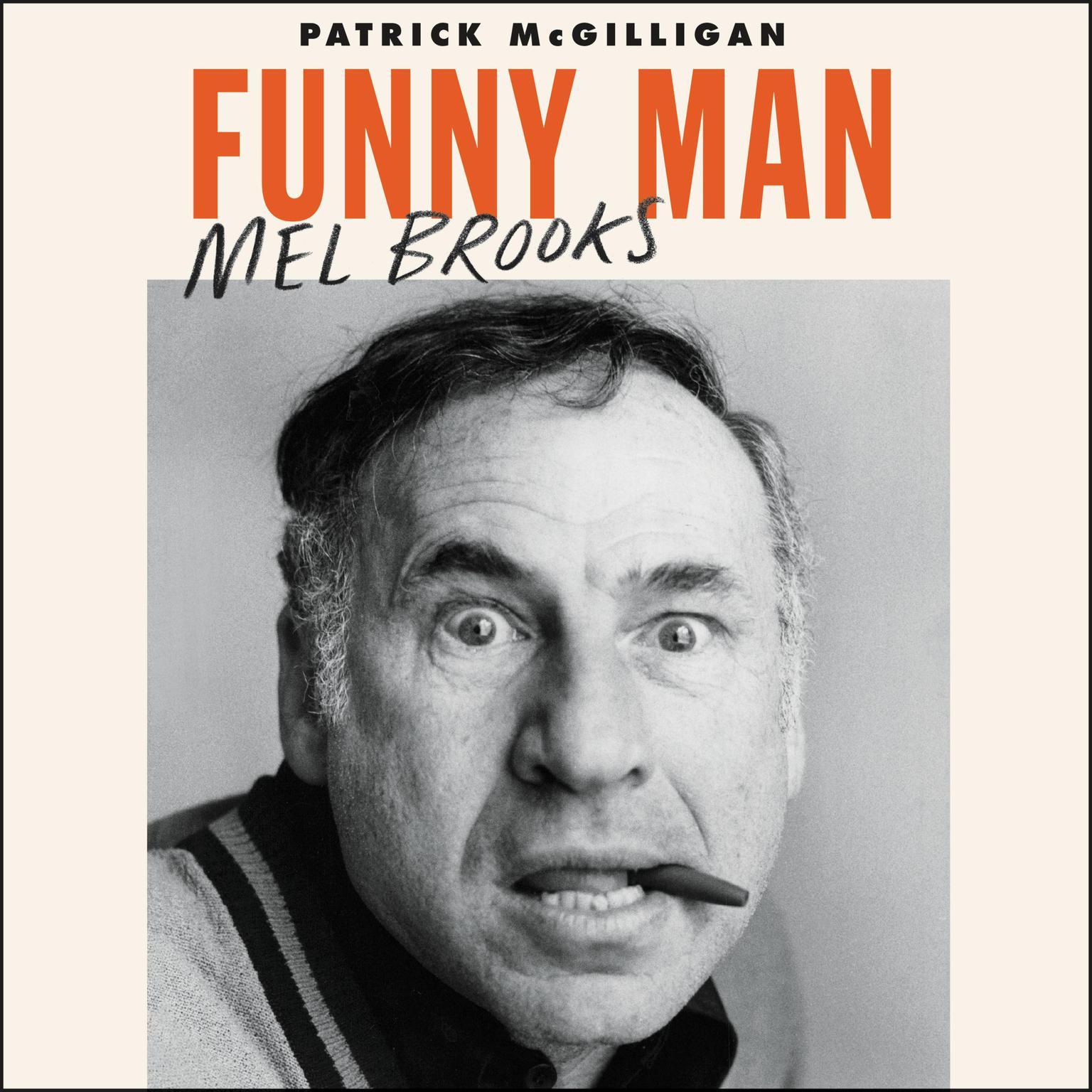 Printable Funny Man: Mel Brooks Audiobook Cover Art