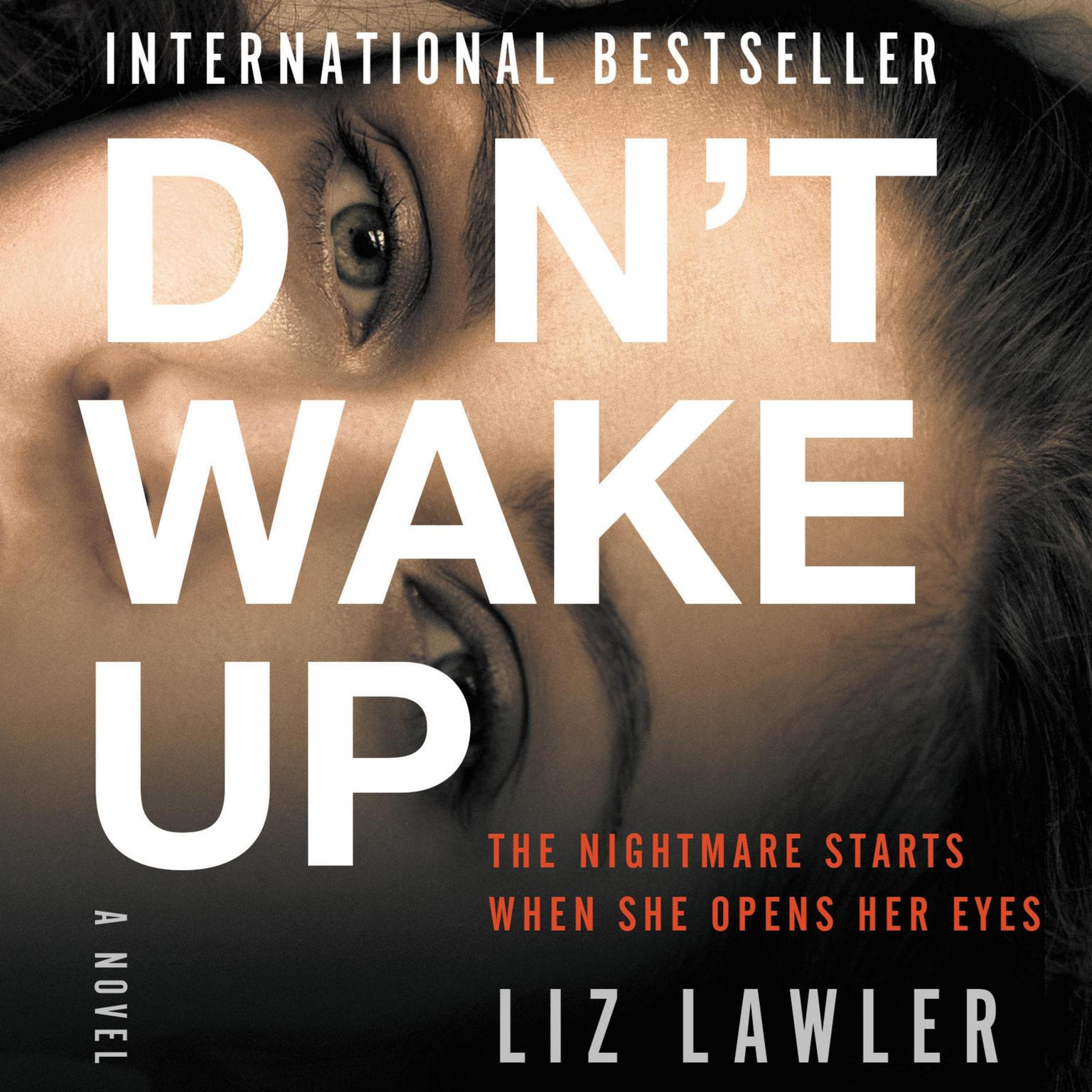 Printable Don't Wake Up: A Novel Audiobook Cover Art