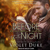 Before That Night: Caine & Addison, Book One Audiobook, by Violet Duke