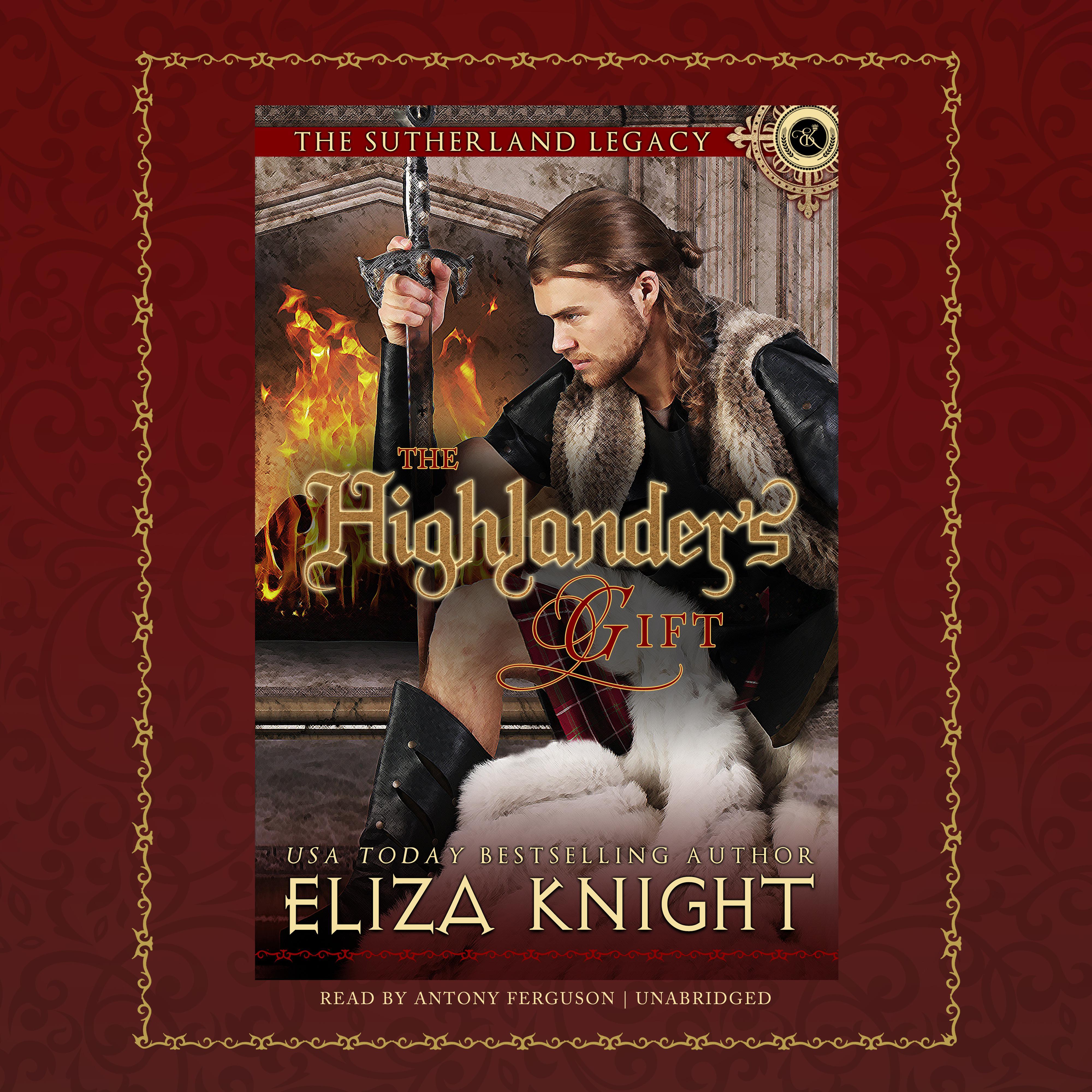 Printable The Highlander's Gift Audiobook Cover Art