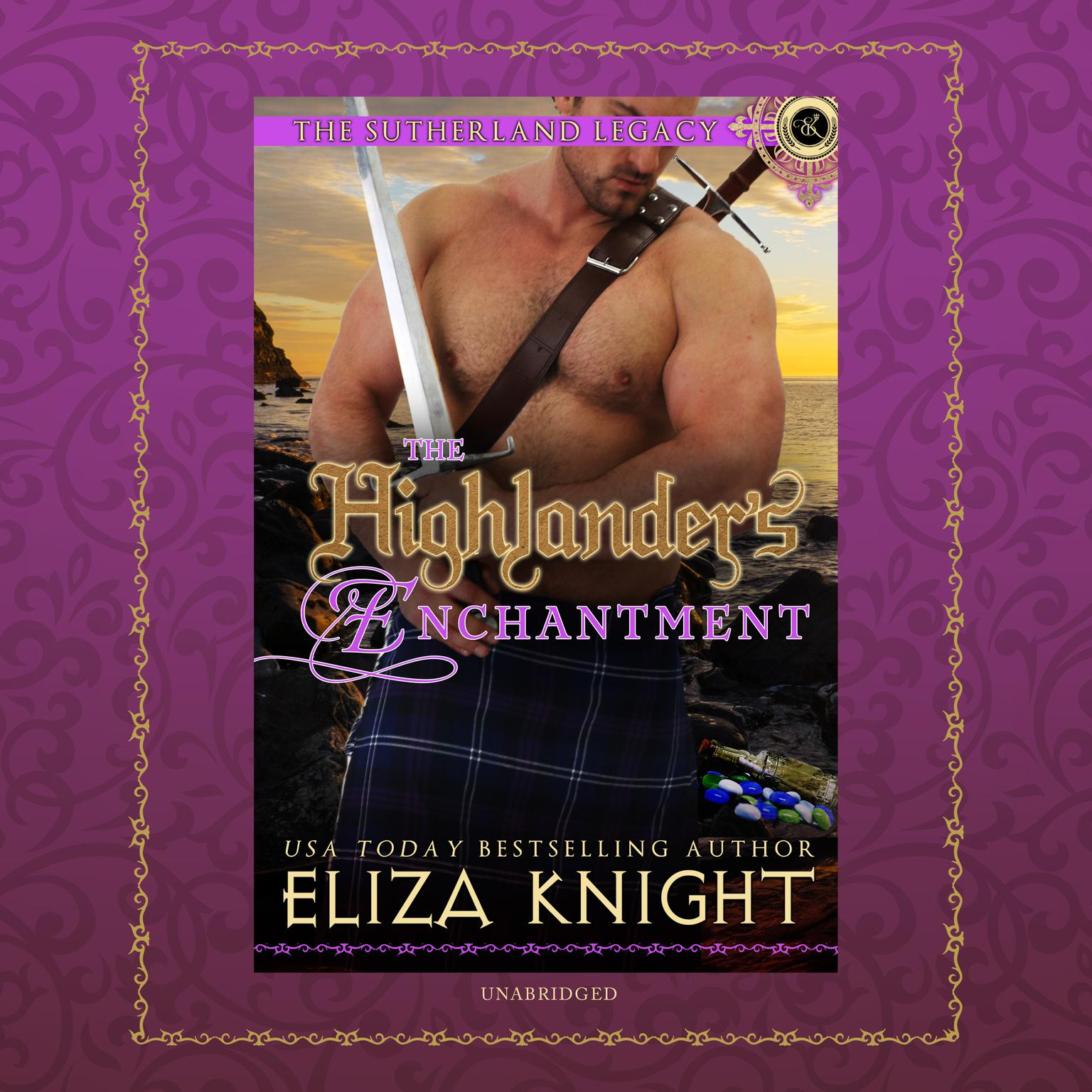Printable The Highlander's Enchantment Audiobook Cover Art