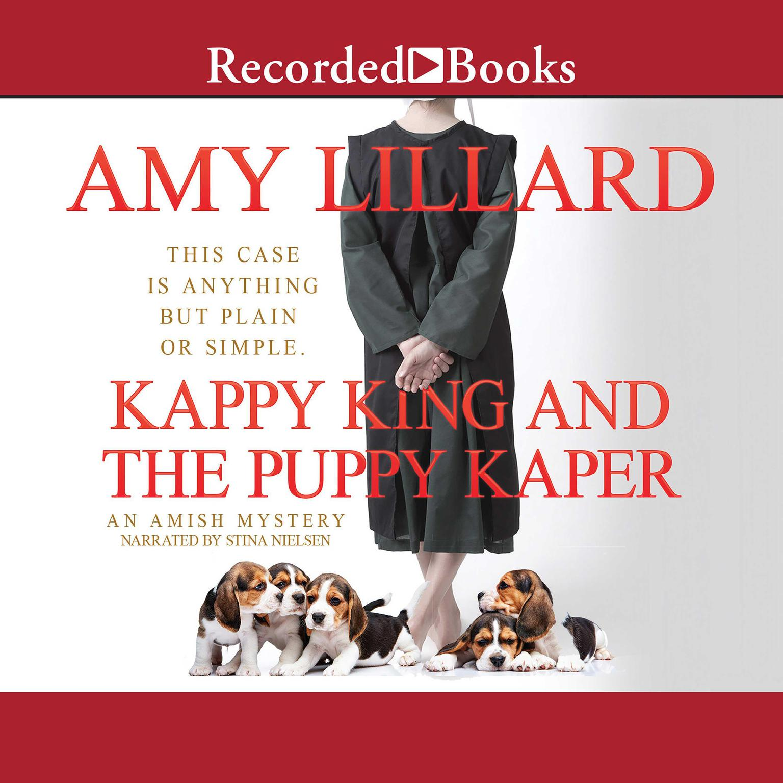 Printable Kappy King and the Puppy Kaper Audiobook Cover Art