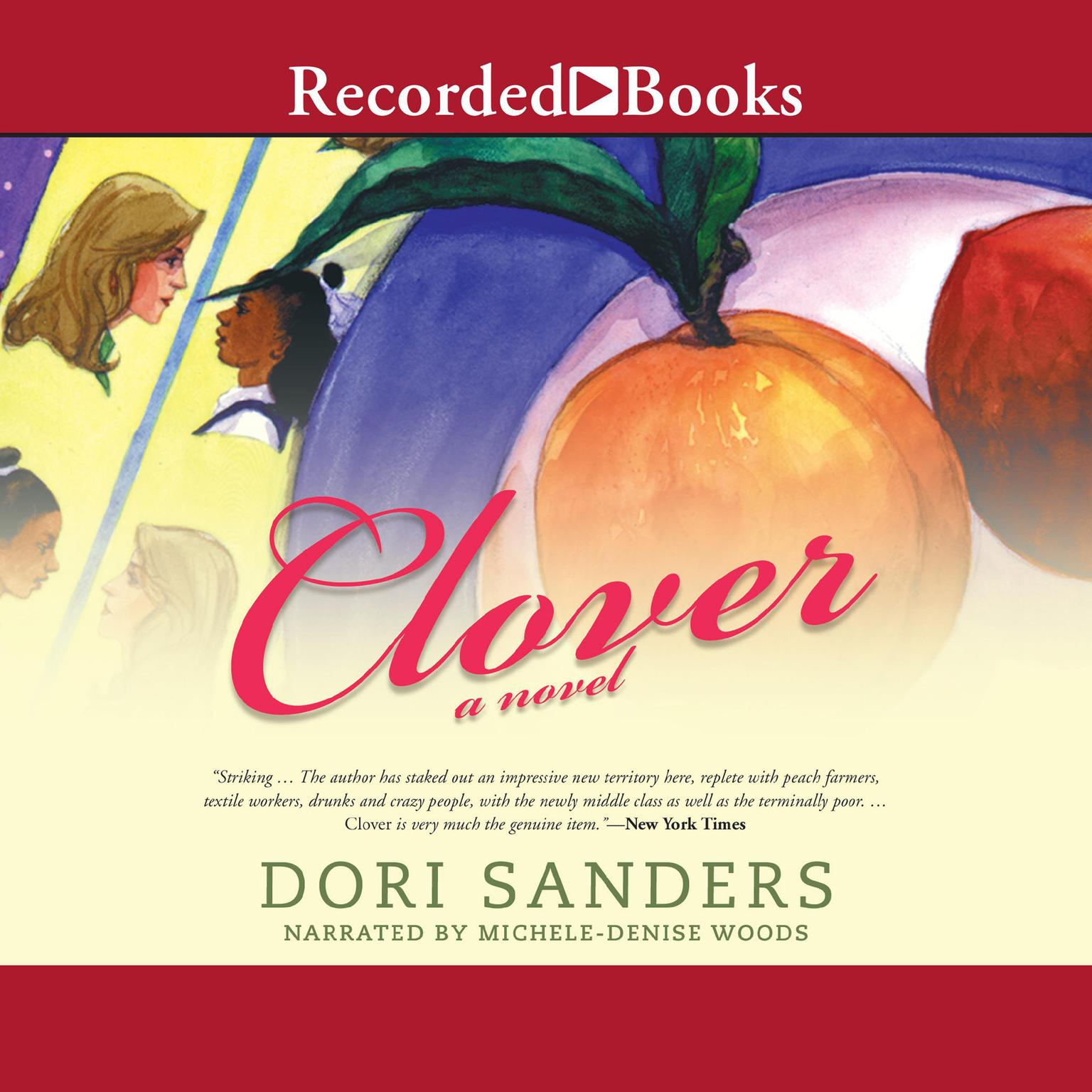 Printable Clover Audiobook Cover Art