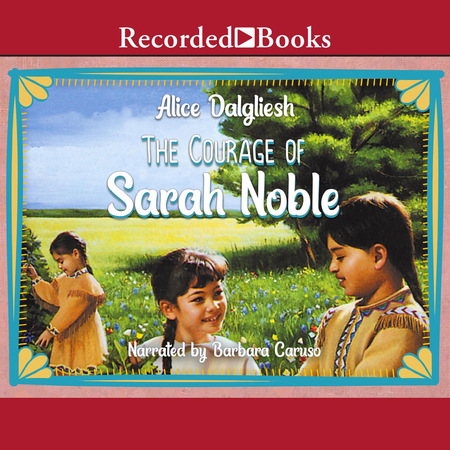Printable The Courage of Sarah Noble Audiobook Cover Art