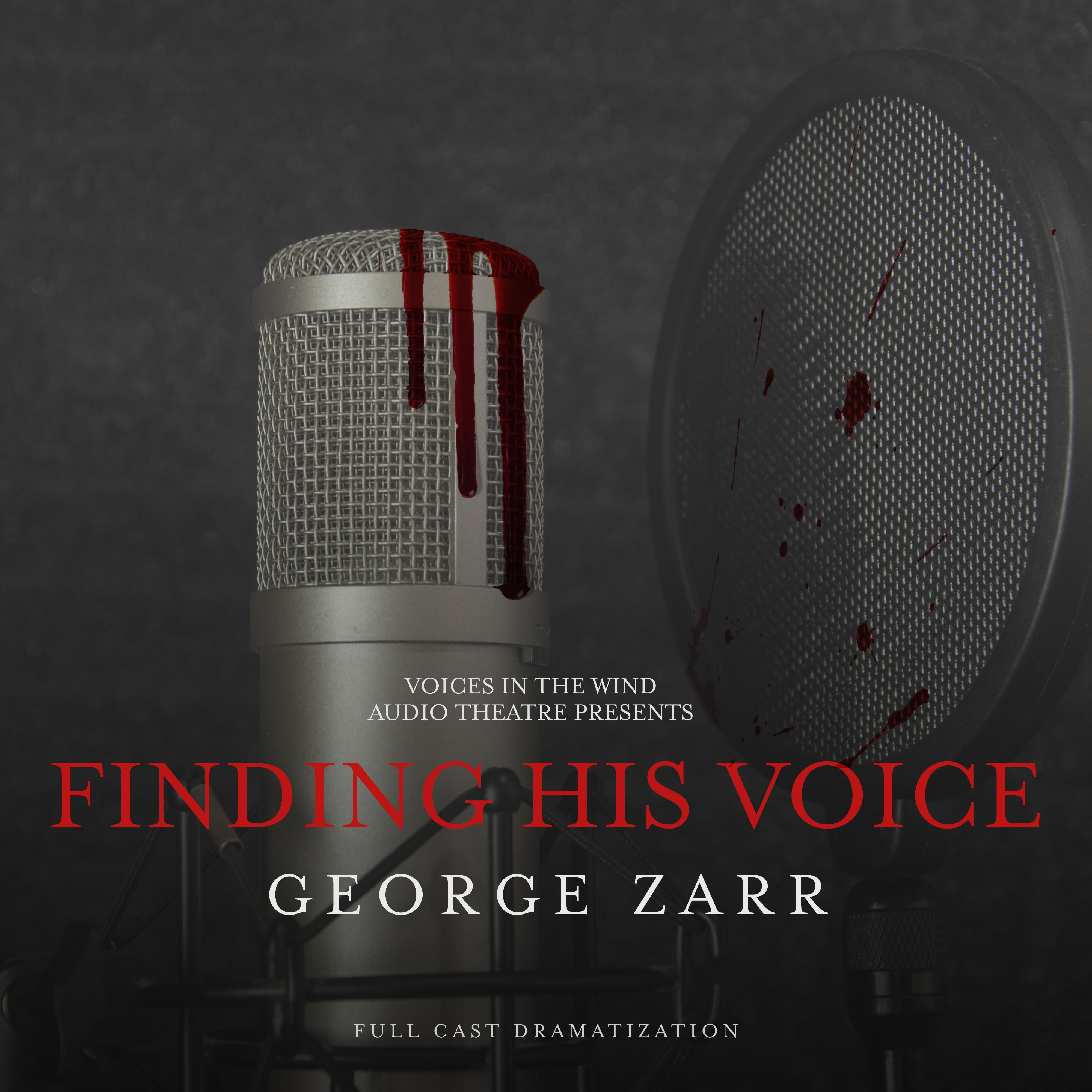 Printable Finding His Voice Audiobook Cover Art