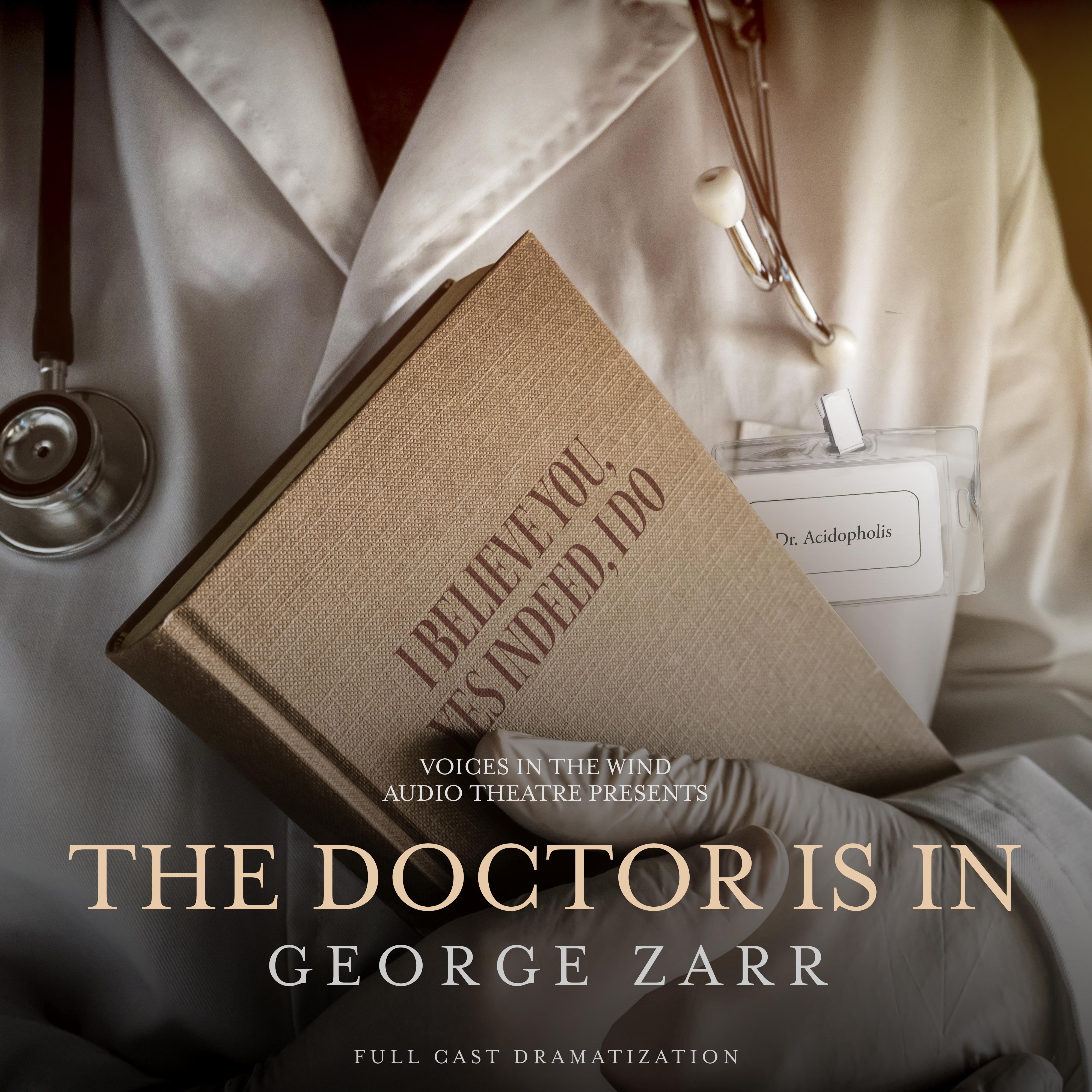 Printable The Doctor is In Audiobook Cover Art