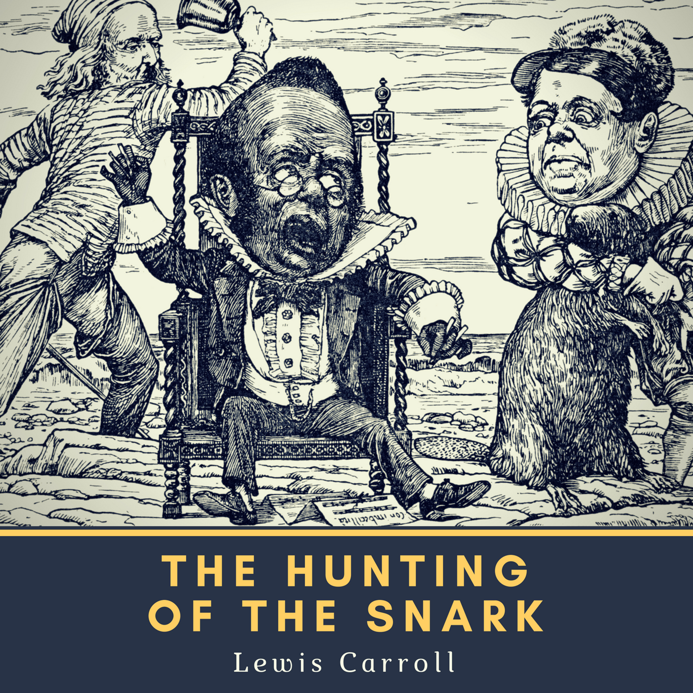 Printable The Hunting of the Snark Audiobook Cover Art
