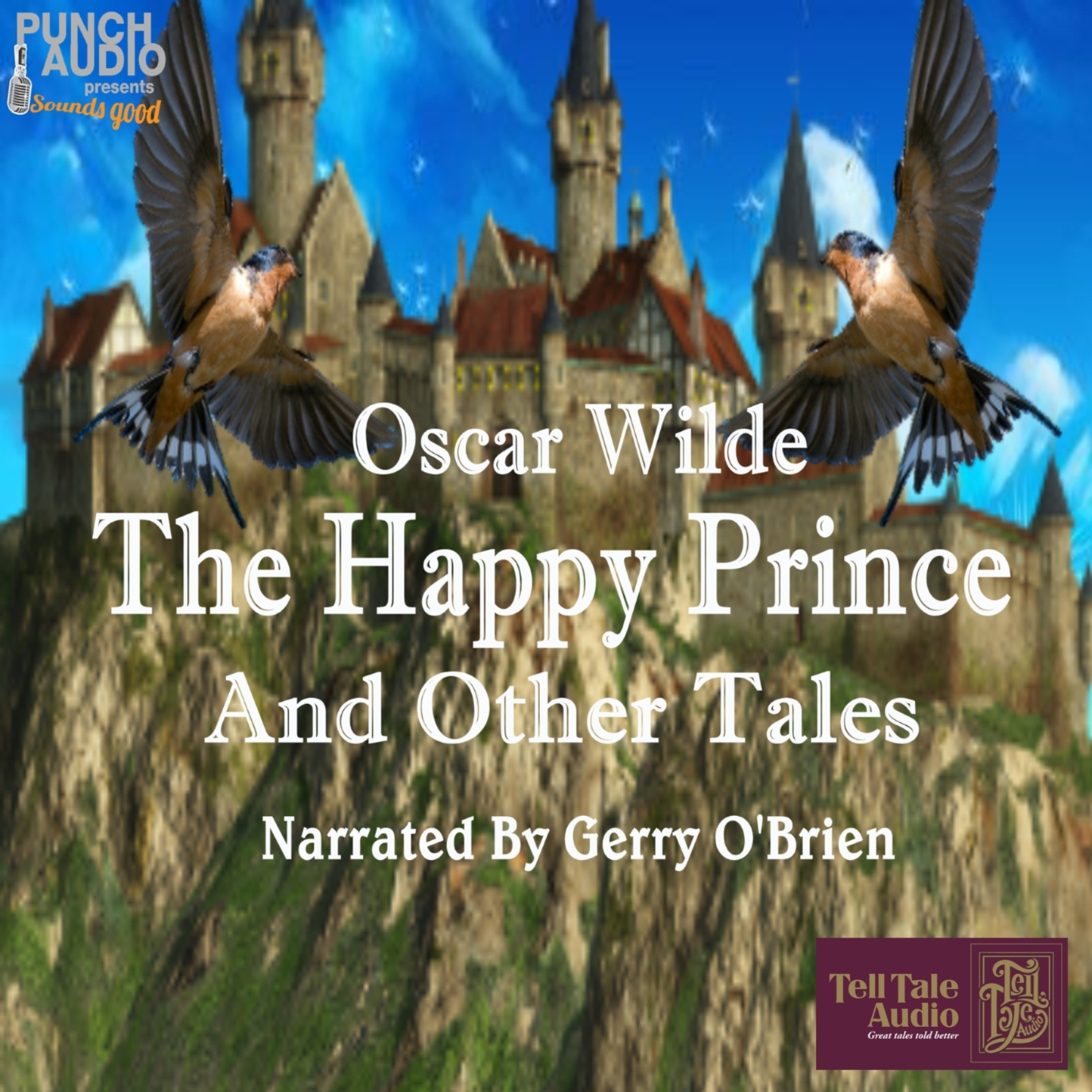 Printable The Happy Prince and Other Stories Audiobook Cover Art