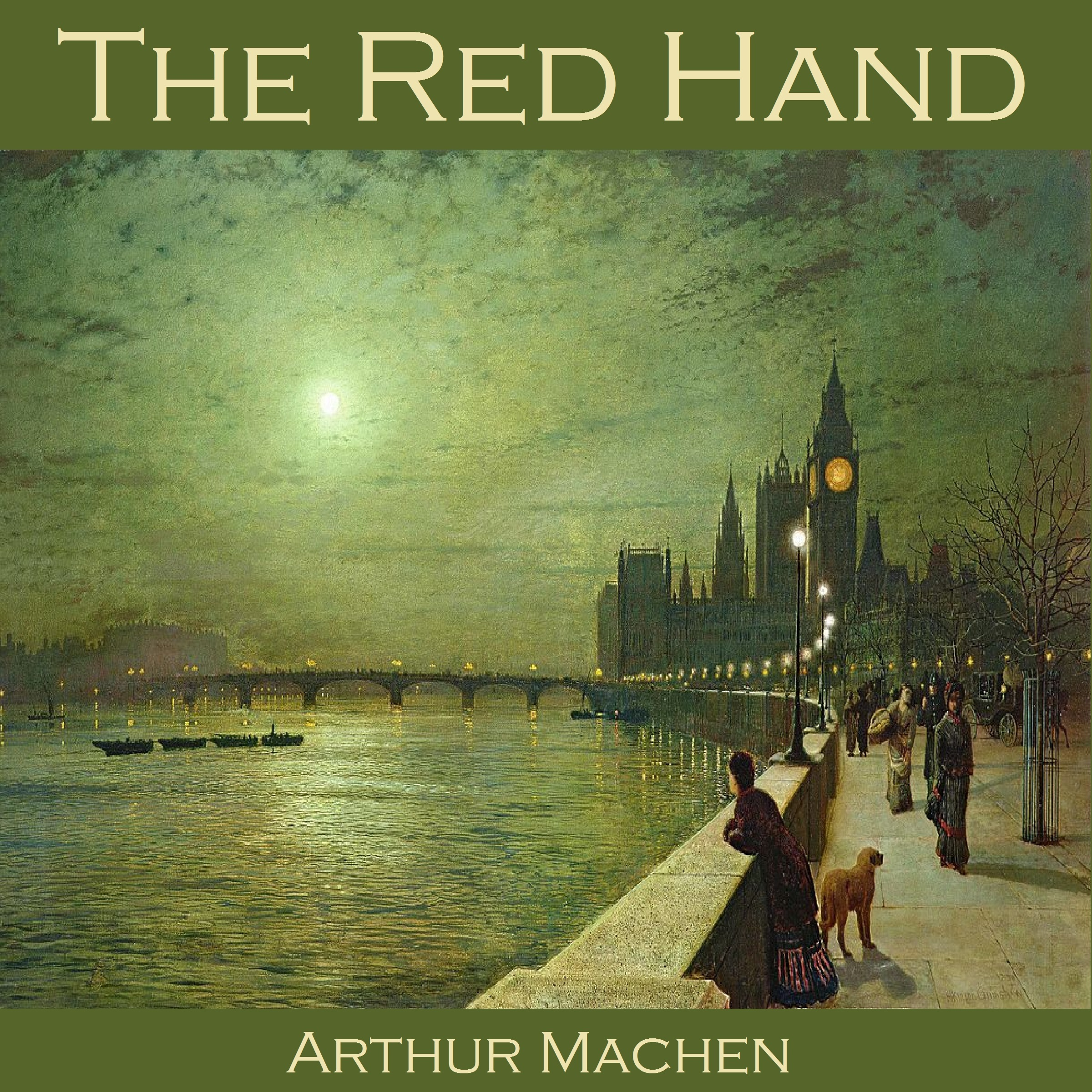 Printable The Red Hand Audiobook Cover Art