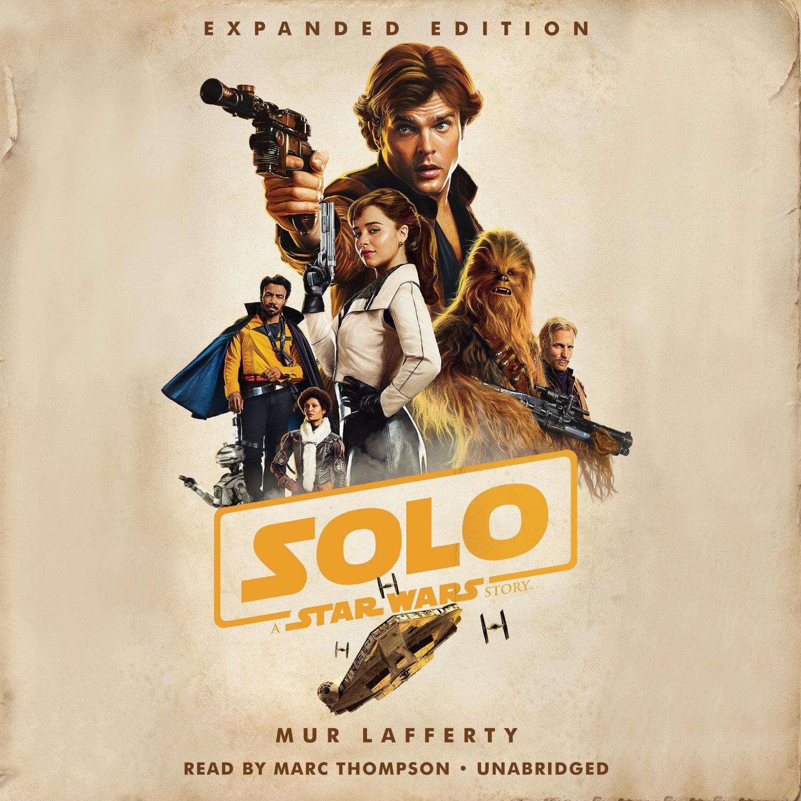 Printable Solo: A Star Wars Story: Expanded Edition Audiobook Cover Art