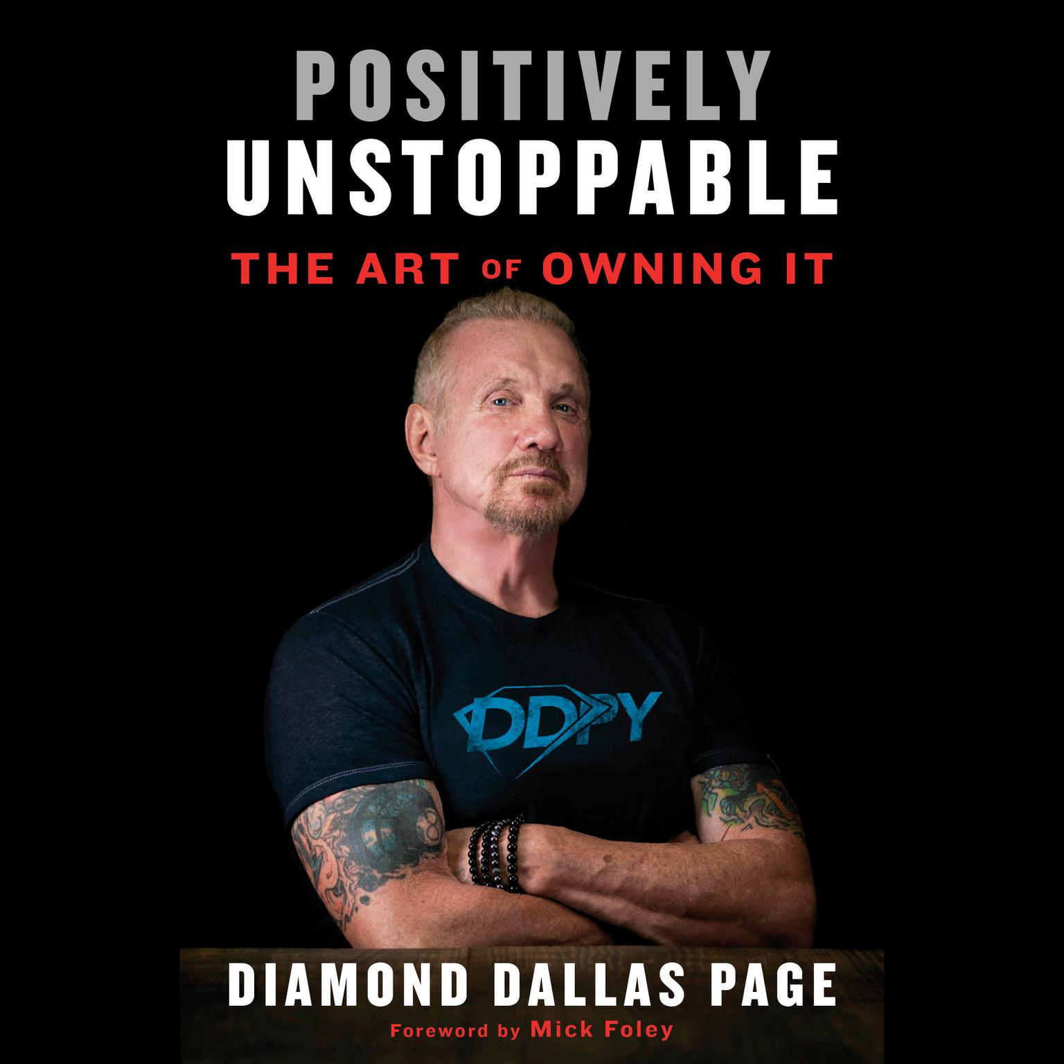 Printable Positively Unstoppable: The Art of Owning It Audiobook Cover Art