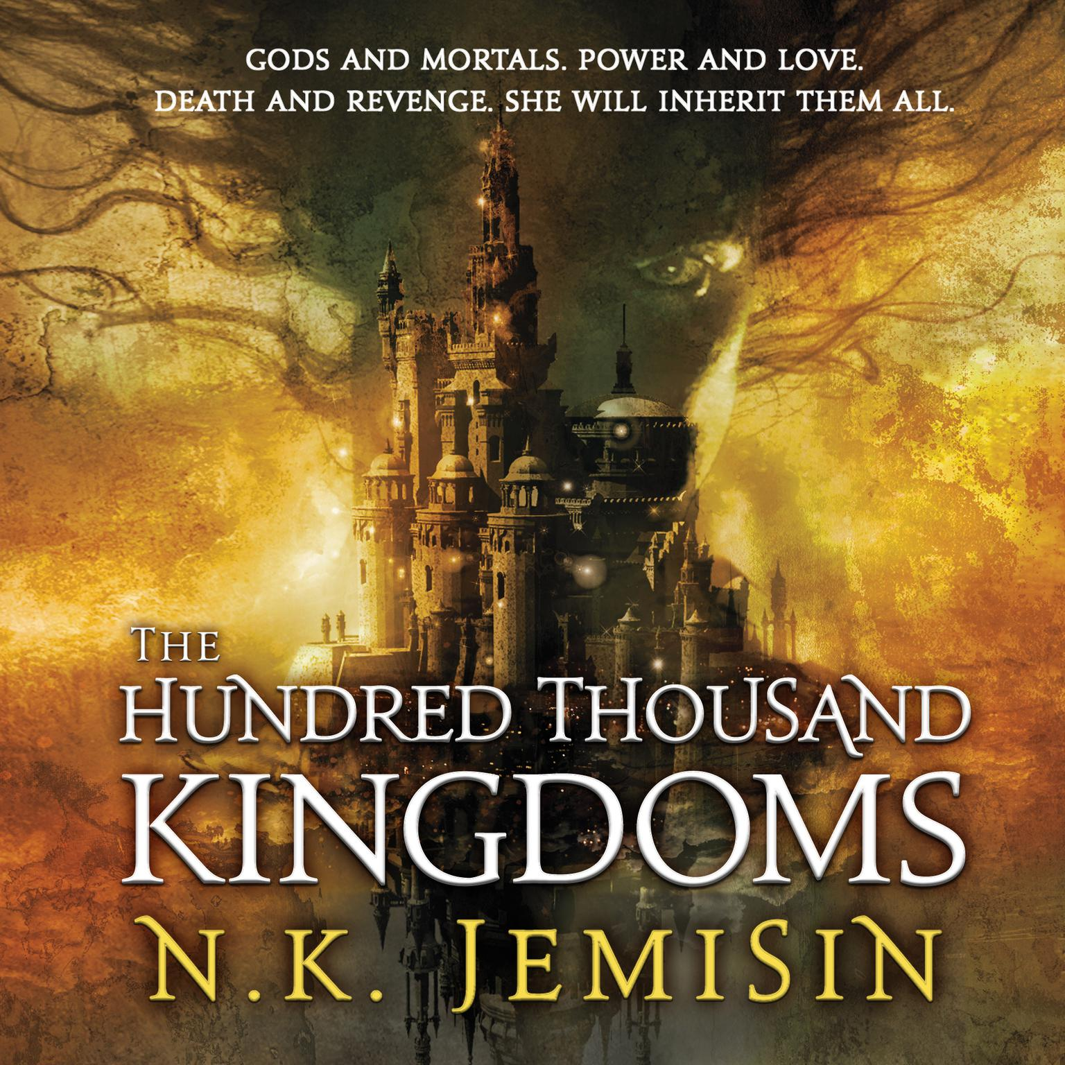Printable The Hundred Thousand Kingdoms Audiobook Cover Art