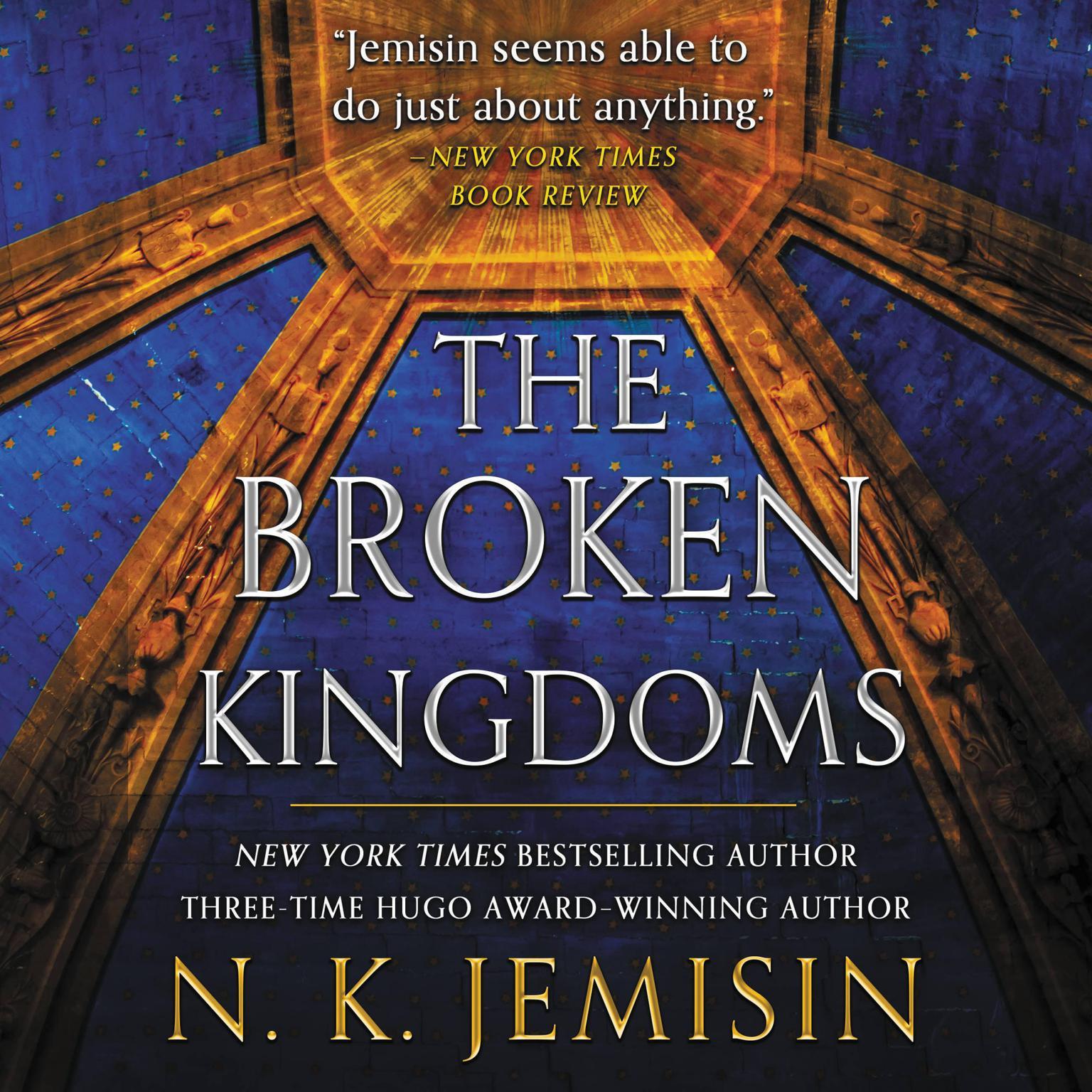 Printable The Broken Kingdoms Audiobook Cover Art