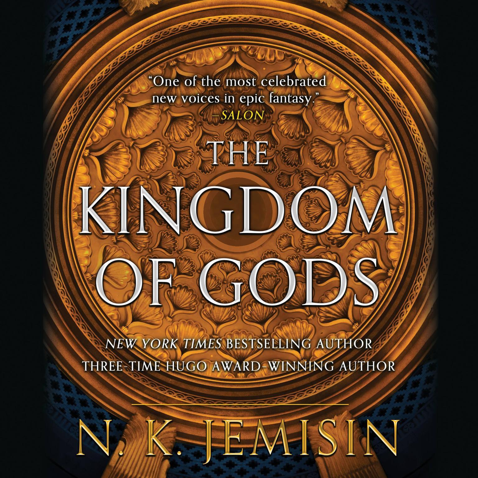 Printable The Kingdom of Gods Audiobook Cover Art