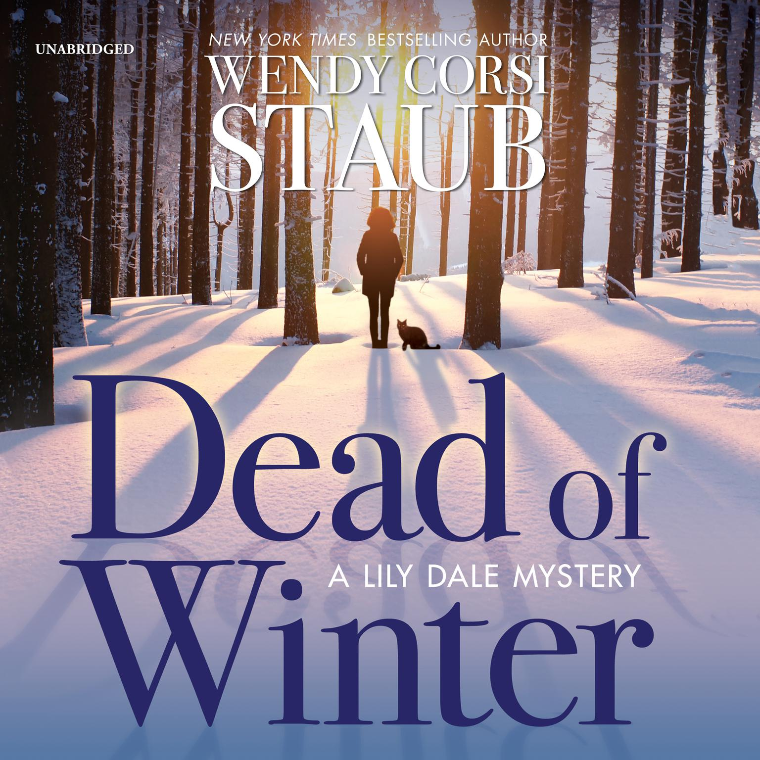 Printable Dead of Winter: A Lily Dale Mystery Audiobook Cover Art
