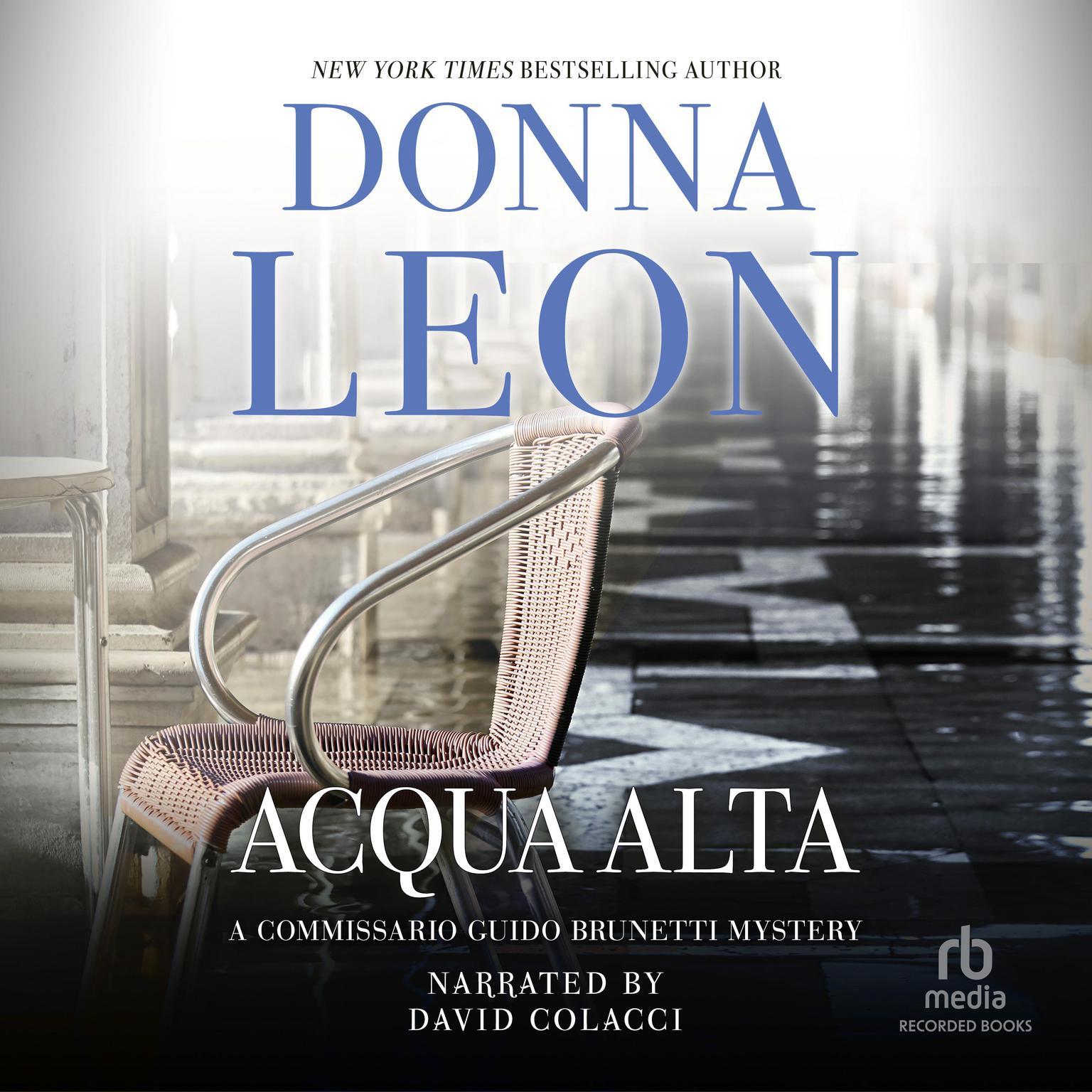 Printable Acqua Alta Audiobook Cover Art